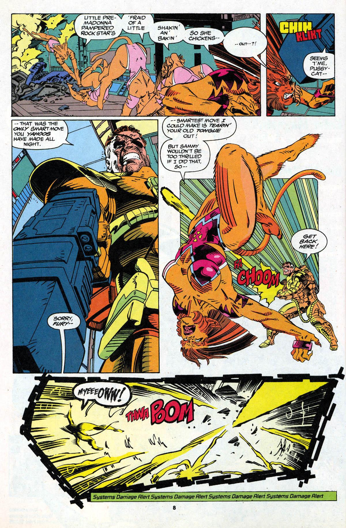 Read online X-Force (1991) comic -  Issue #21 - 9
