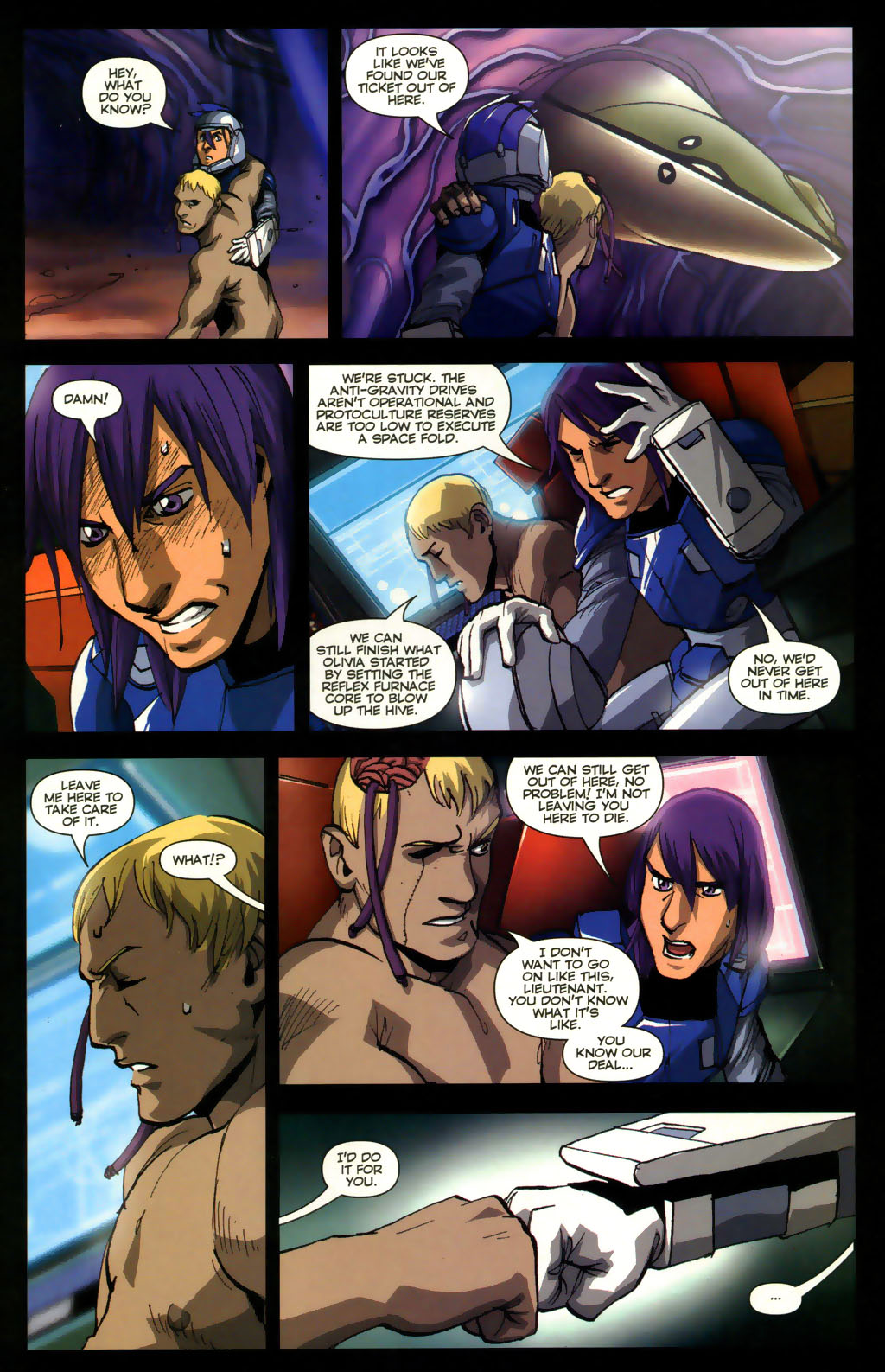 Read online Robotech: Invasion comic -  Issue #5 - 6