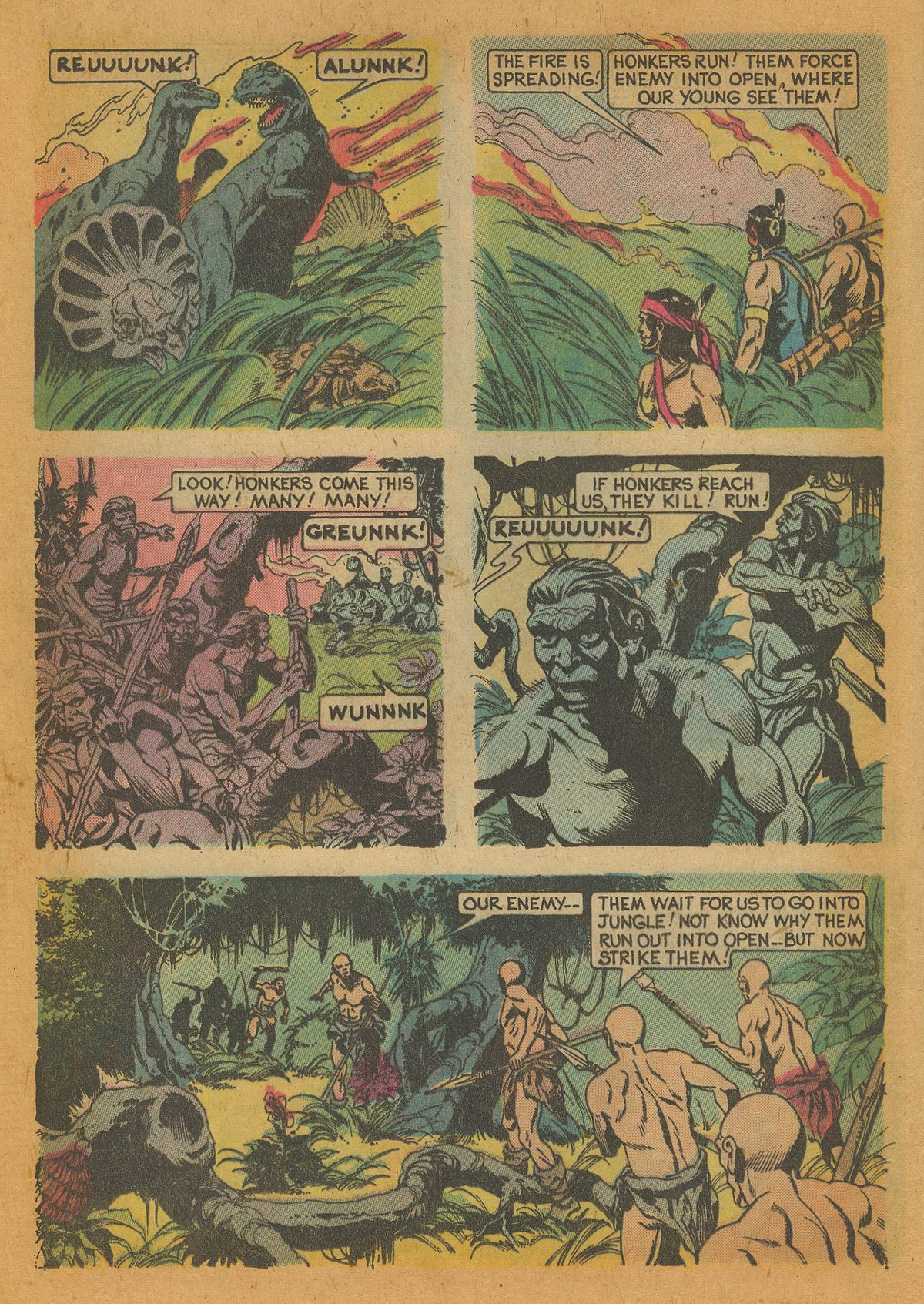 Read online Turok, Son of Stone comic -  Issue #112 - 16