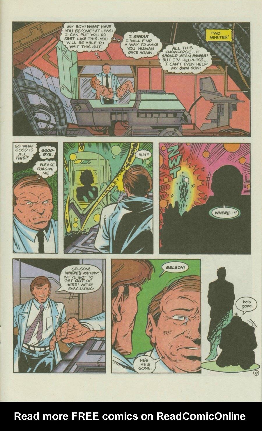 Read online Ex-Mutants comic -  Issue #8 - 24