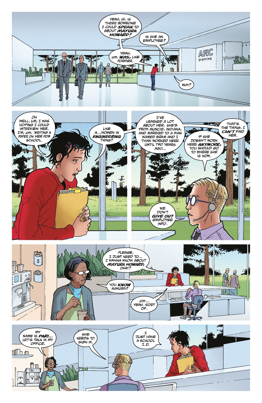 Read online She Could Fly comic -  Issue # _TPB - 61
