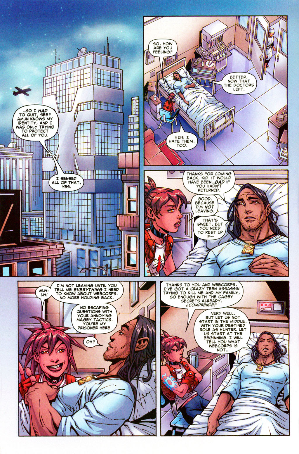 Read online Araña: Heart of the Spider comic -  Issue #5 - 5