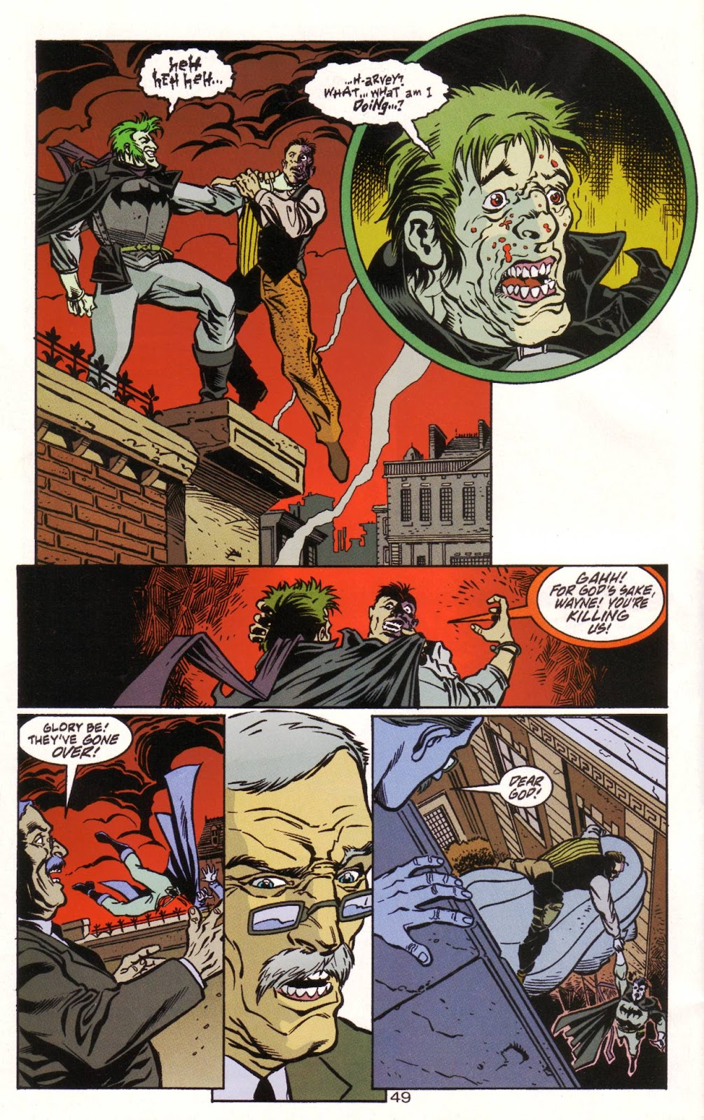 Batman: Two Faces issue Full - Page 50