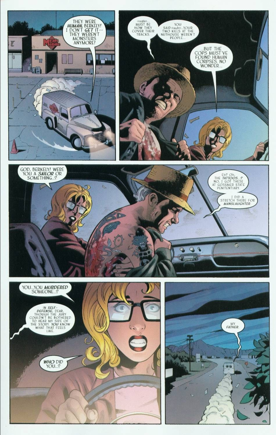 Read online Route 666 comic -  Issue #5 - 23