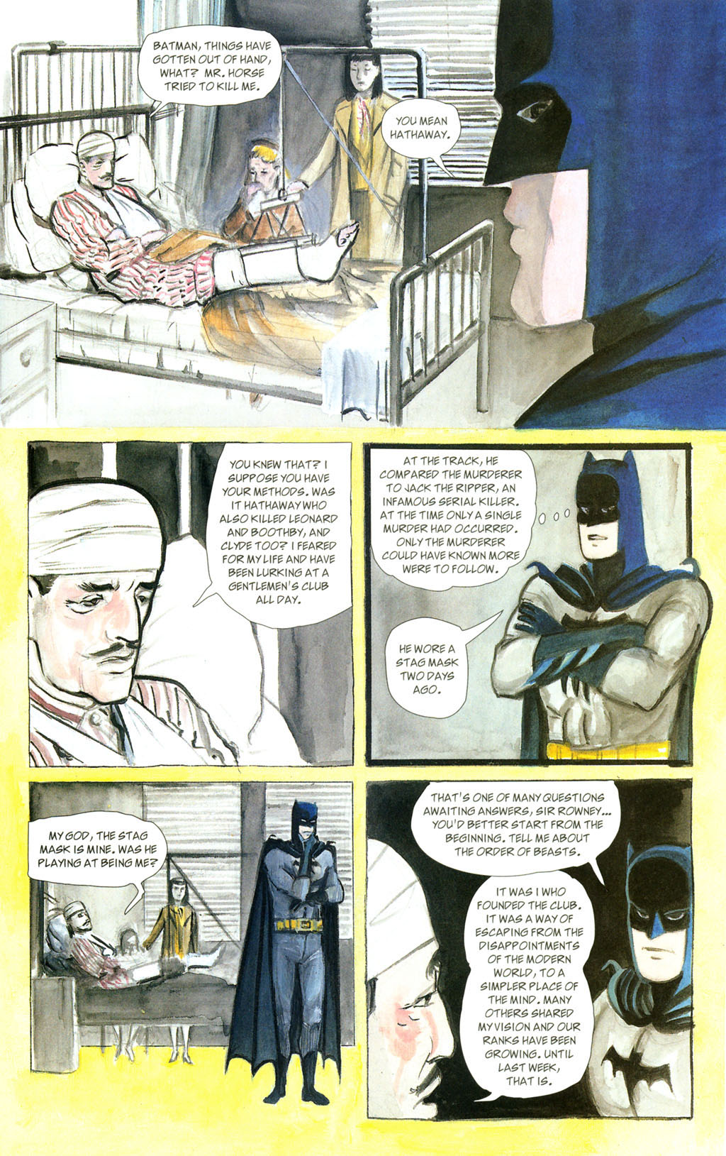 Read online Batman: The Order of Beasts comic -  Issue # Full - 39
