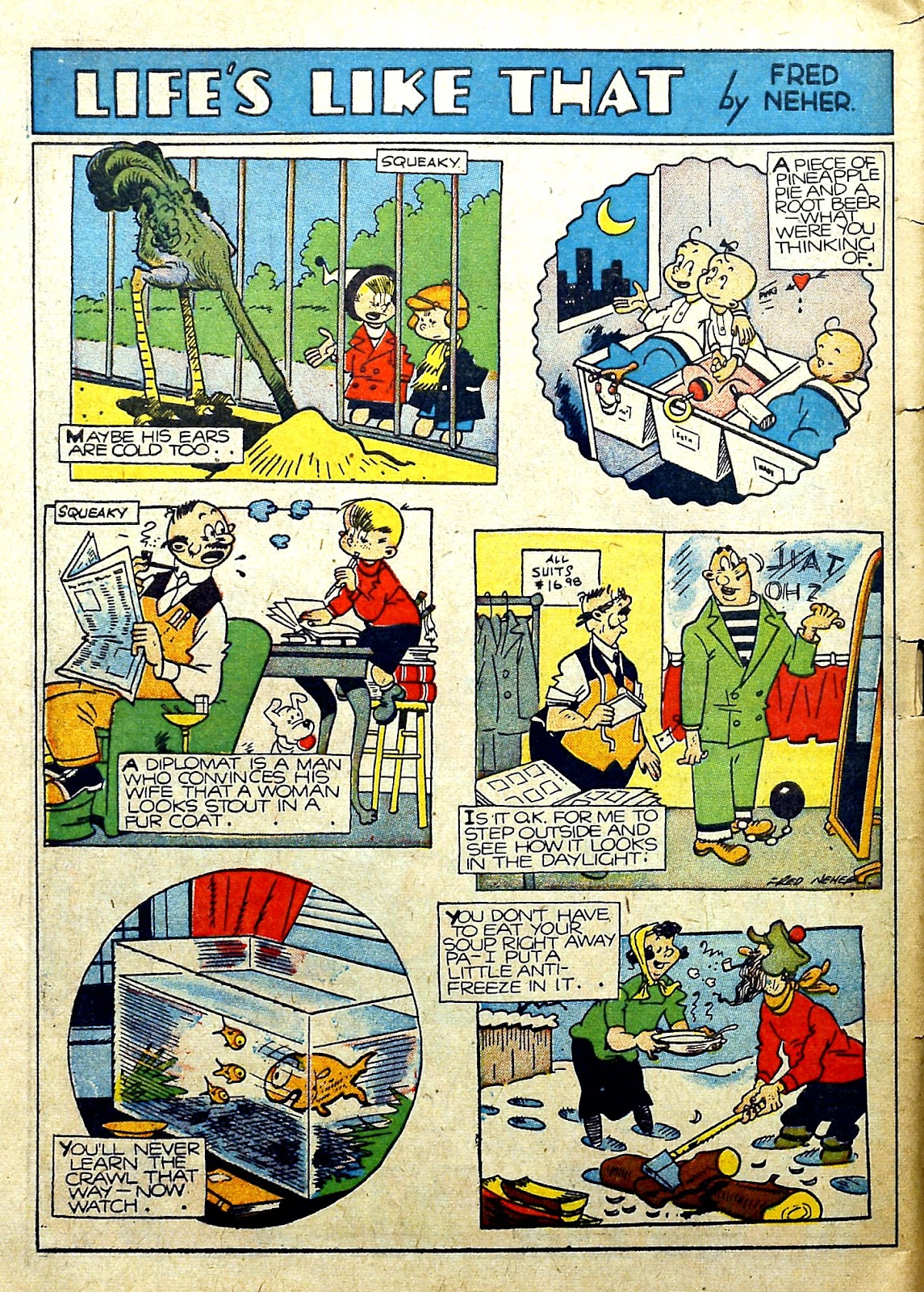 Read online Famous Funnies comic -  Issue #78 - 58