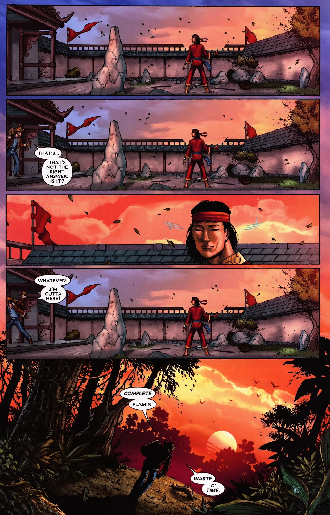 Read online Wolverine: First Class comic -  Issue #9 - 13