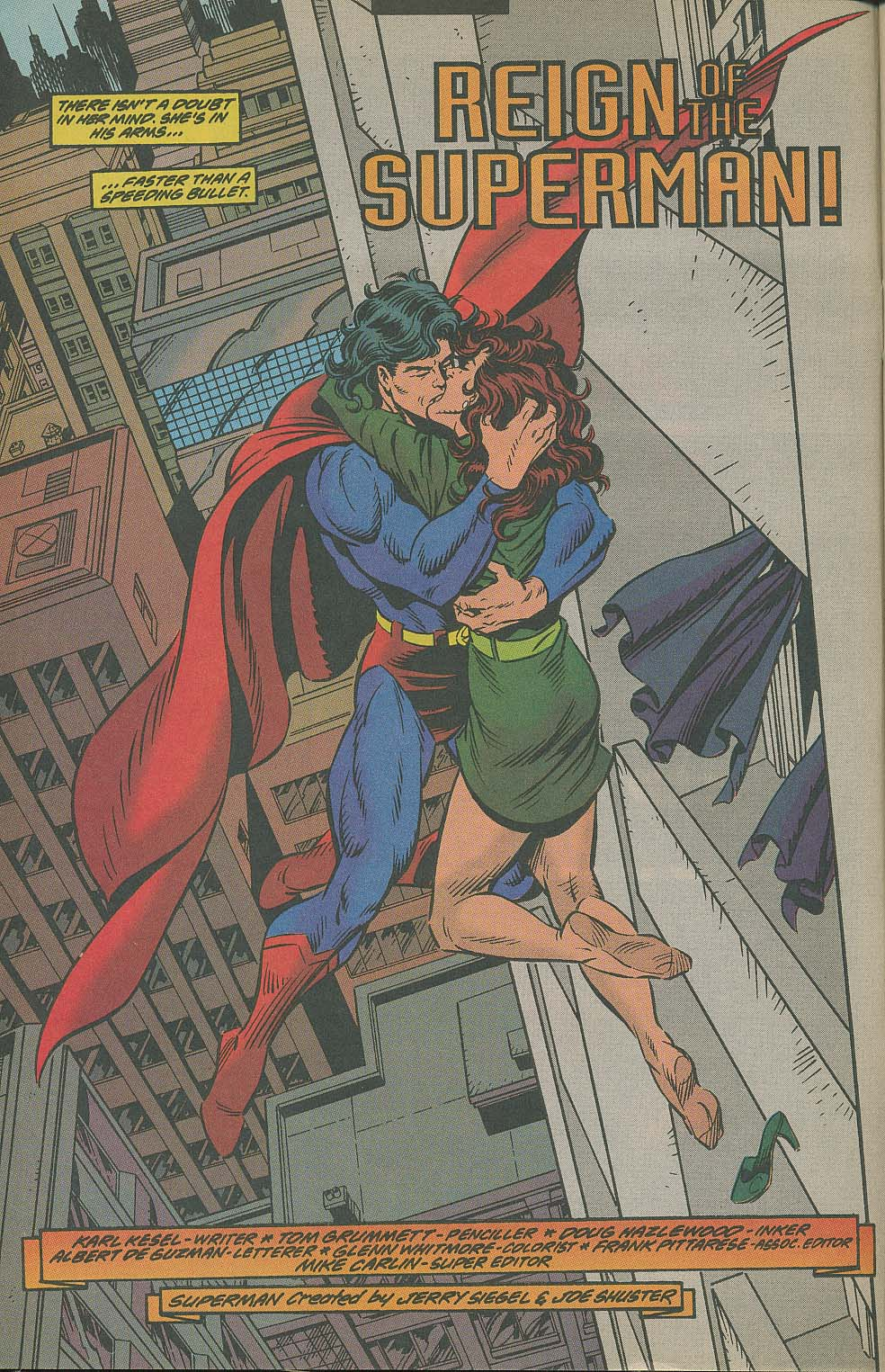 Read online Adventures of Superman (1987) comic -  Issue #505 - 3