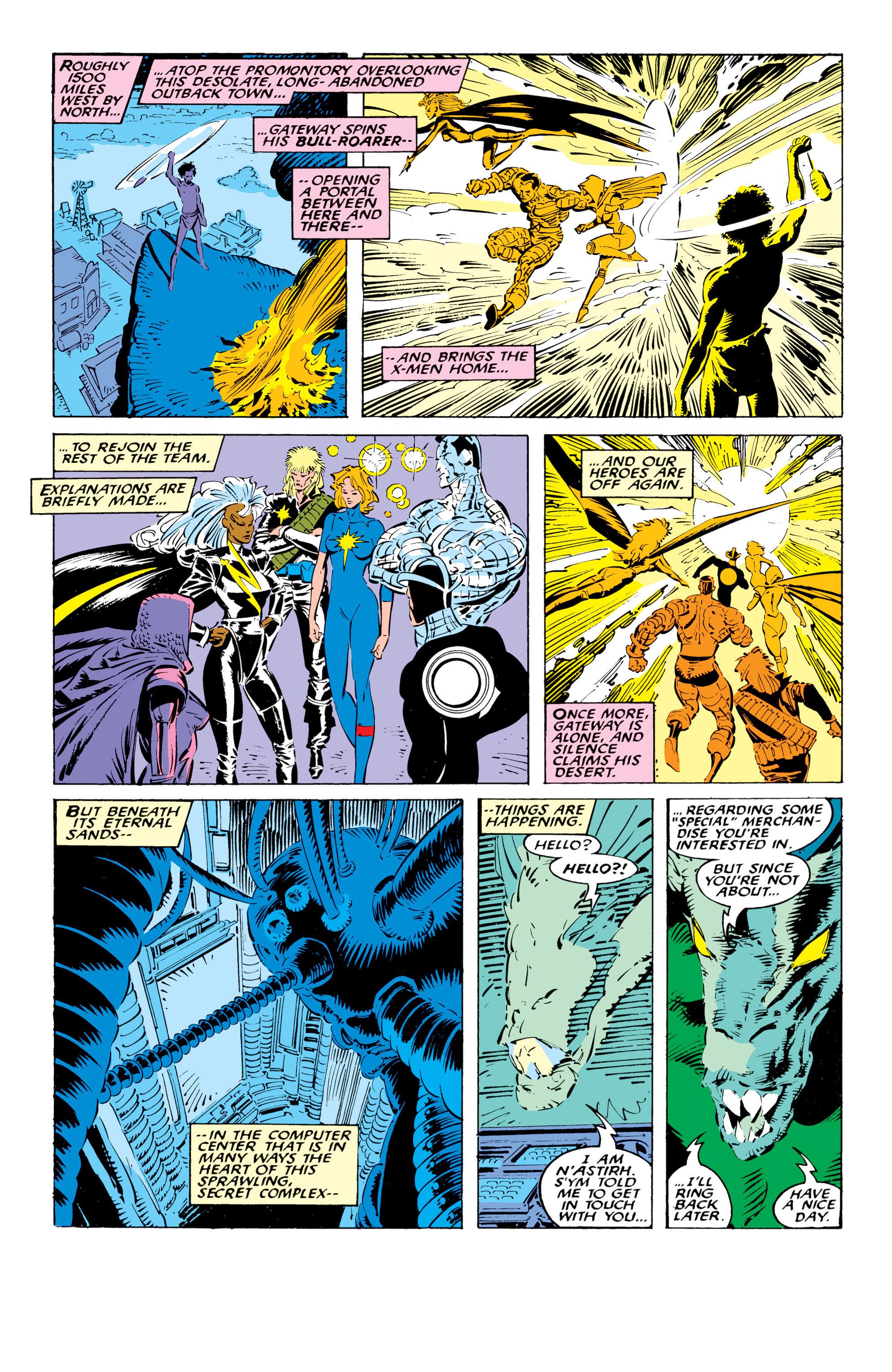 Read online Uncanny X-Men (1963) comic -  Issue #236 - 13