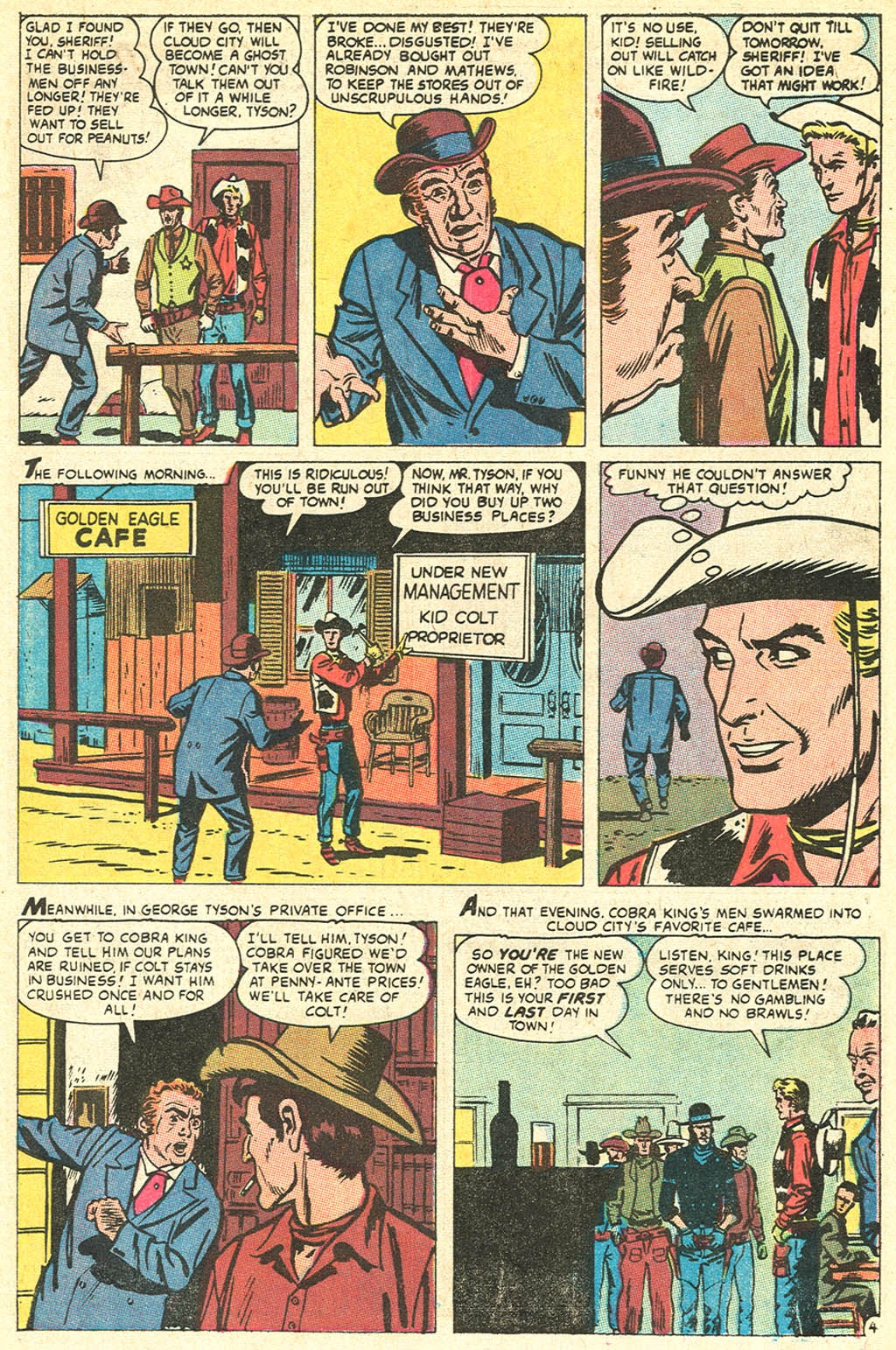 Kid Colt Outlaw issue 141 - Page 7