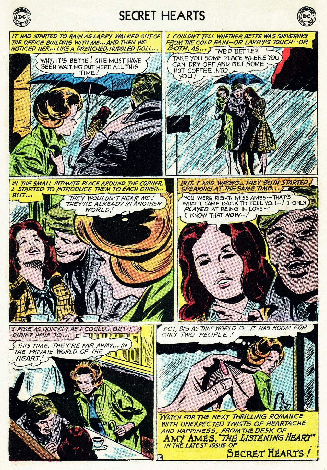 Read online Secret Hearts comic -  Issue #105 - 33