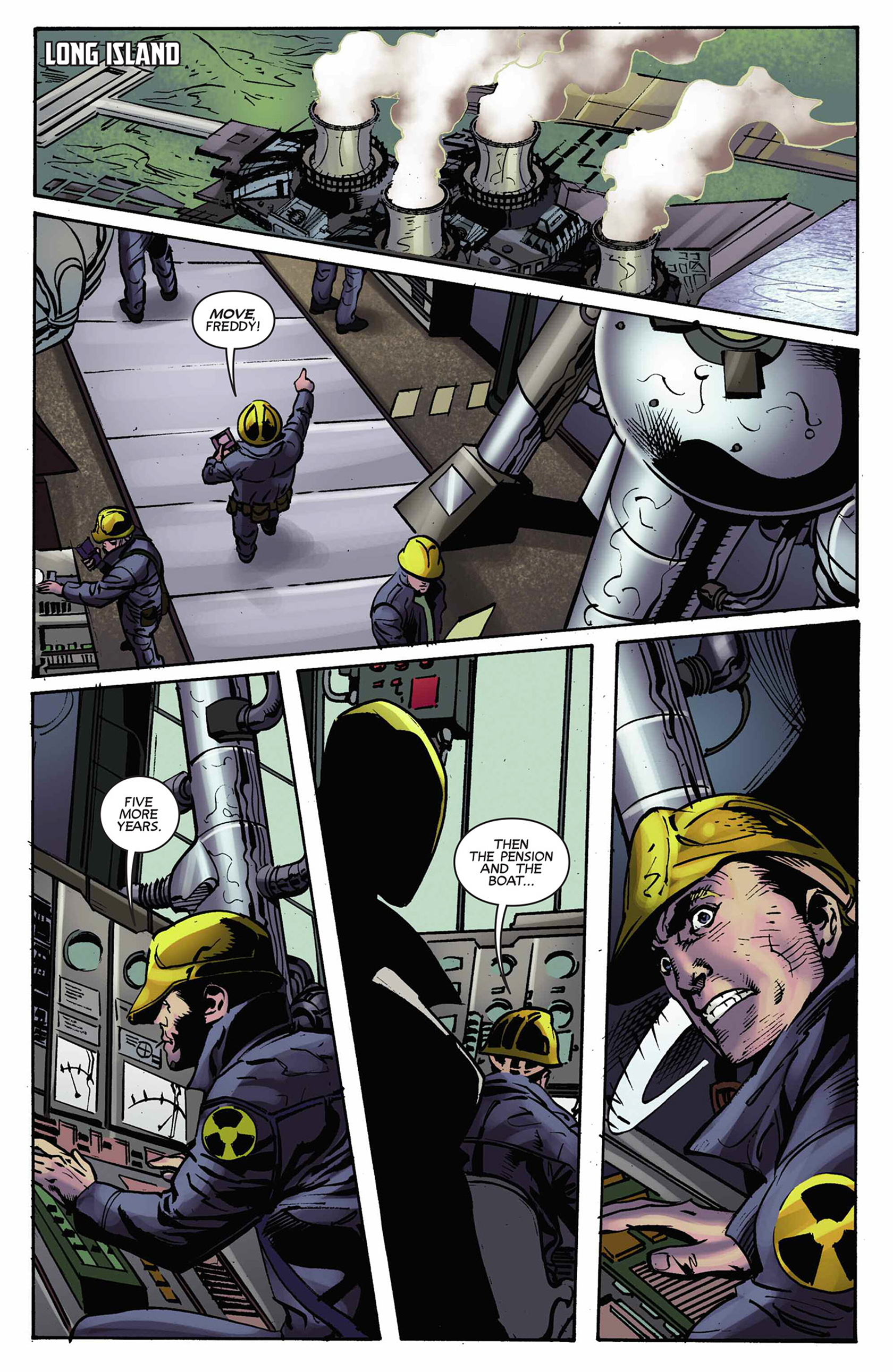 Read online Solar: Man of the Atom (2014) comic -  Issue #9 - 6