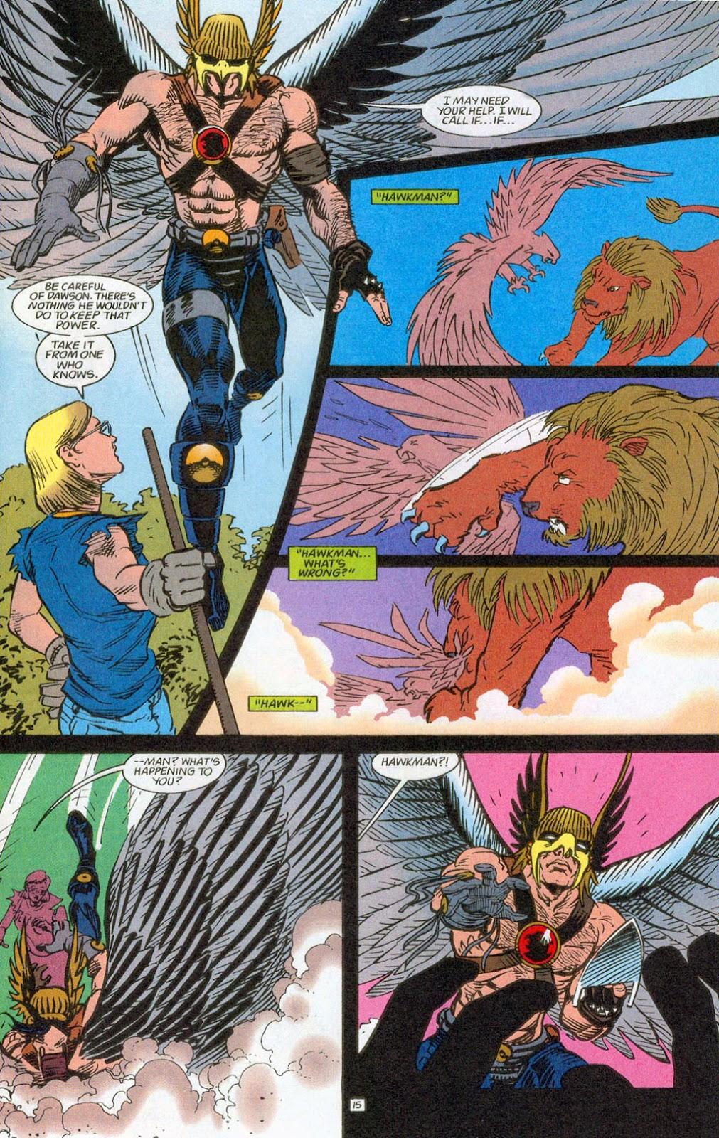 Hawkman (1993) Issue #24 #27 - English 17