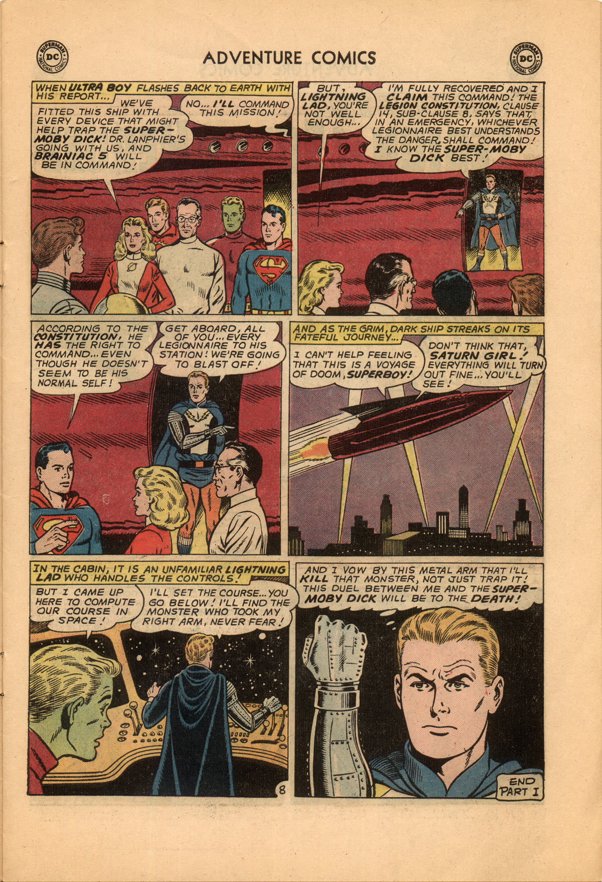 Read online Adventure Comics (1938) comic -  Issue #332 - 11