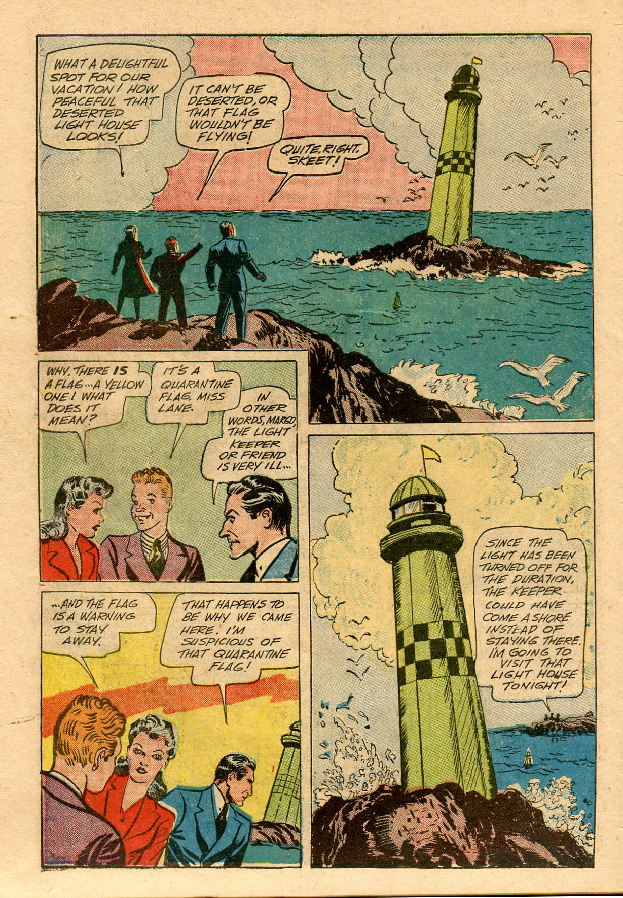 Read online Shadow Comics comic -  Issue #33 - 52