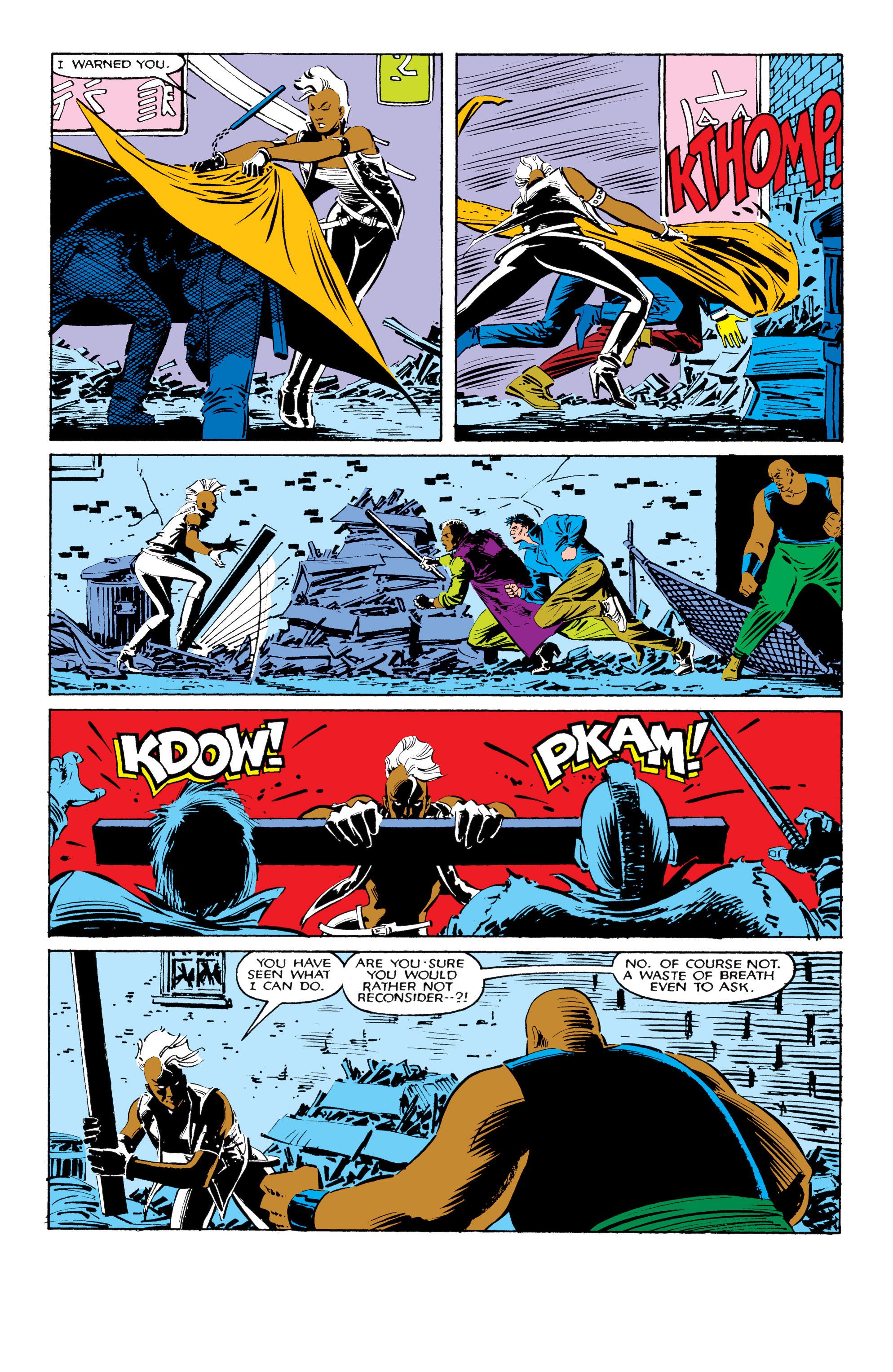 Read online Uncanny X-Men (1963) comic -  Issue #206 - 4