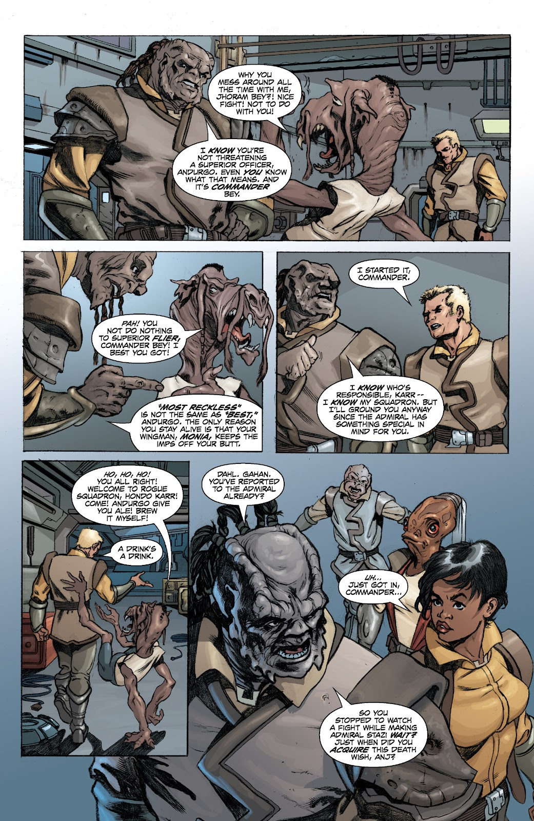 Read online Star Wars Legends: Legacy - Epic Collection comic -  Issue # TPB 2 (Part 1) - 19