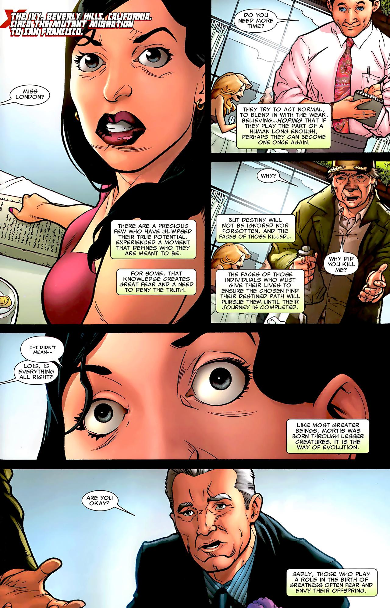 Read online X Necrosha: The Gathering comic -  Issue # Full - 26