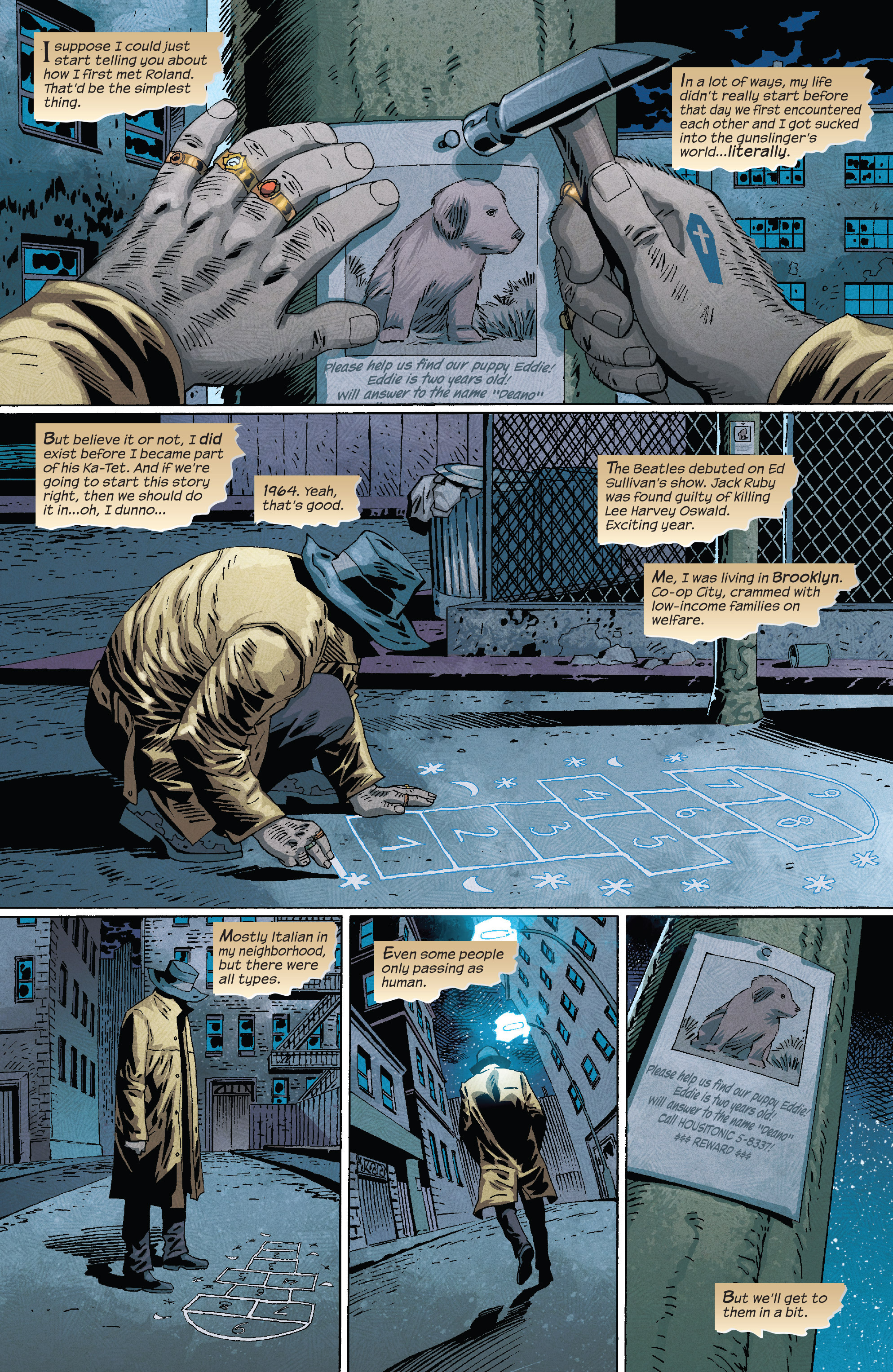 Read online Dark Tower: The Drawing of the Three - The Prisoner comic -  Issue #1 - 3