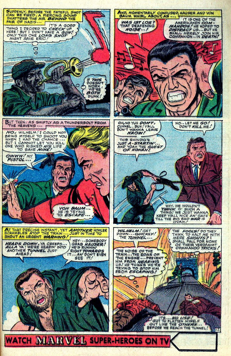 Read online Sgt. Fury comic -  Issue #36 - 24