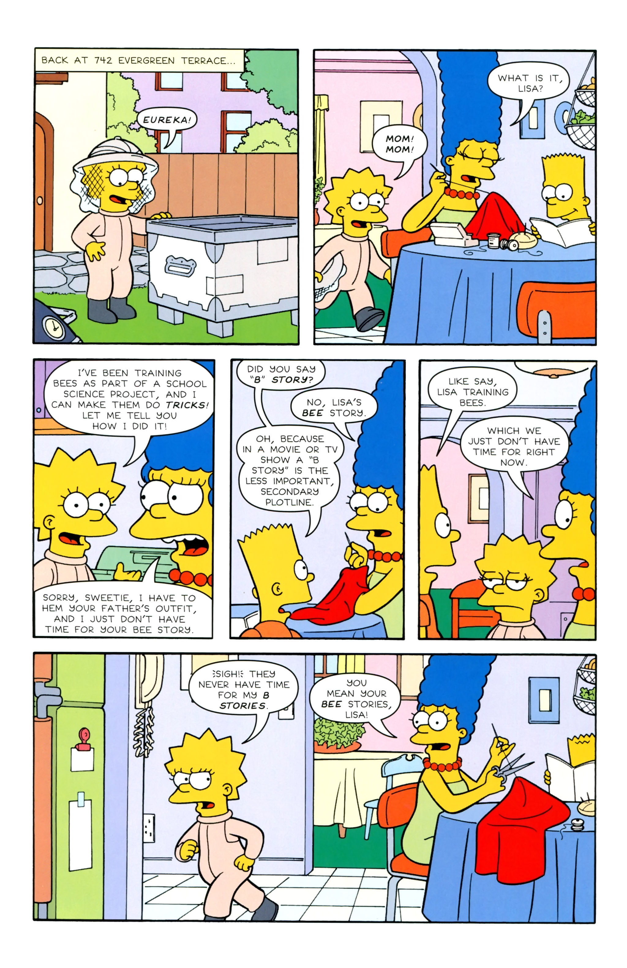 Read online Simpsons Illustrated (2012) comic -  Issue #20 - 19