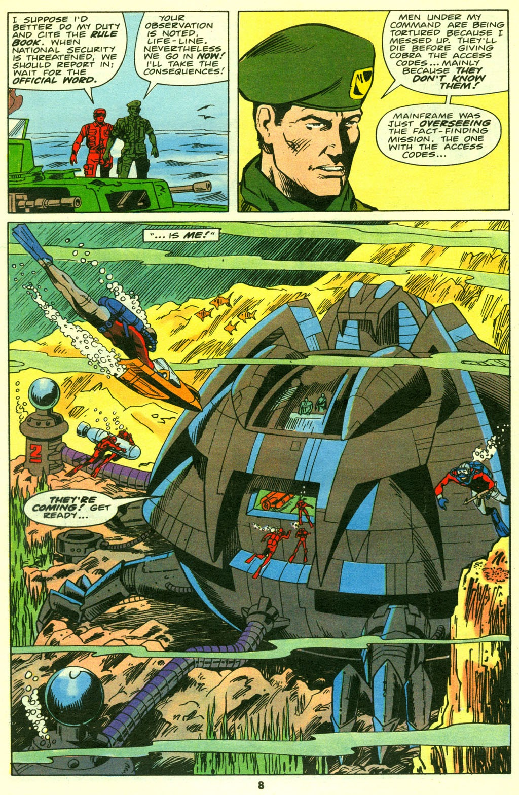 G.I. Joe European Missions issue 14 - Page 9