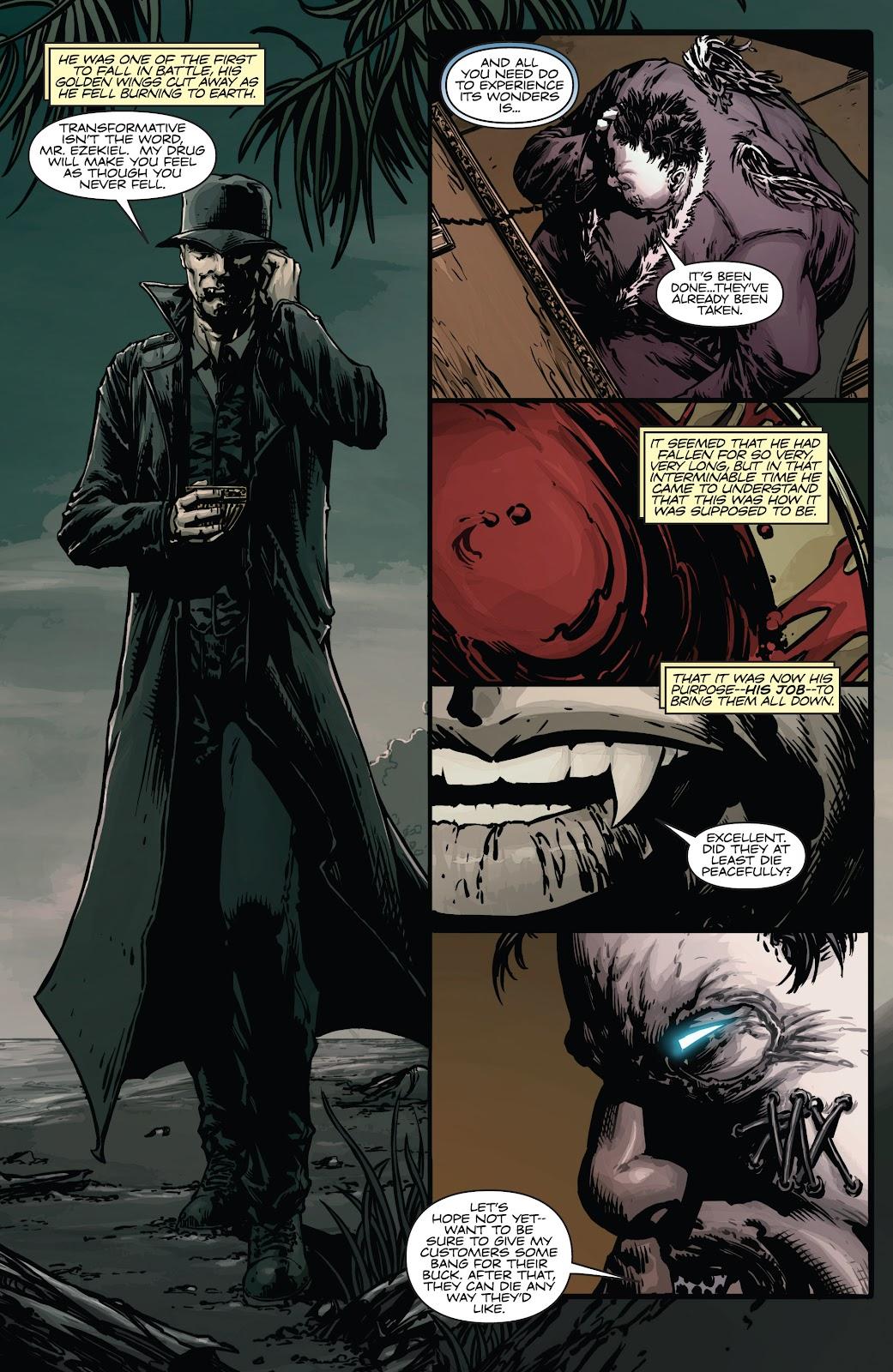 Read online Vampirella Strikes comic -  Issue #4 - 4