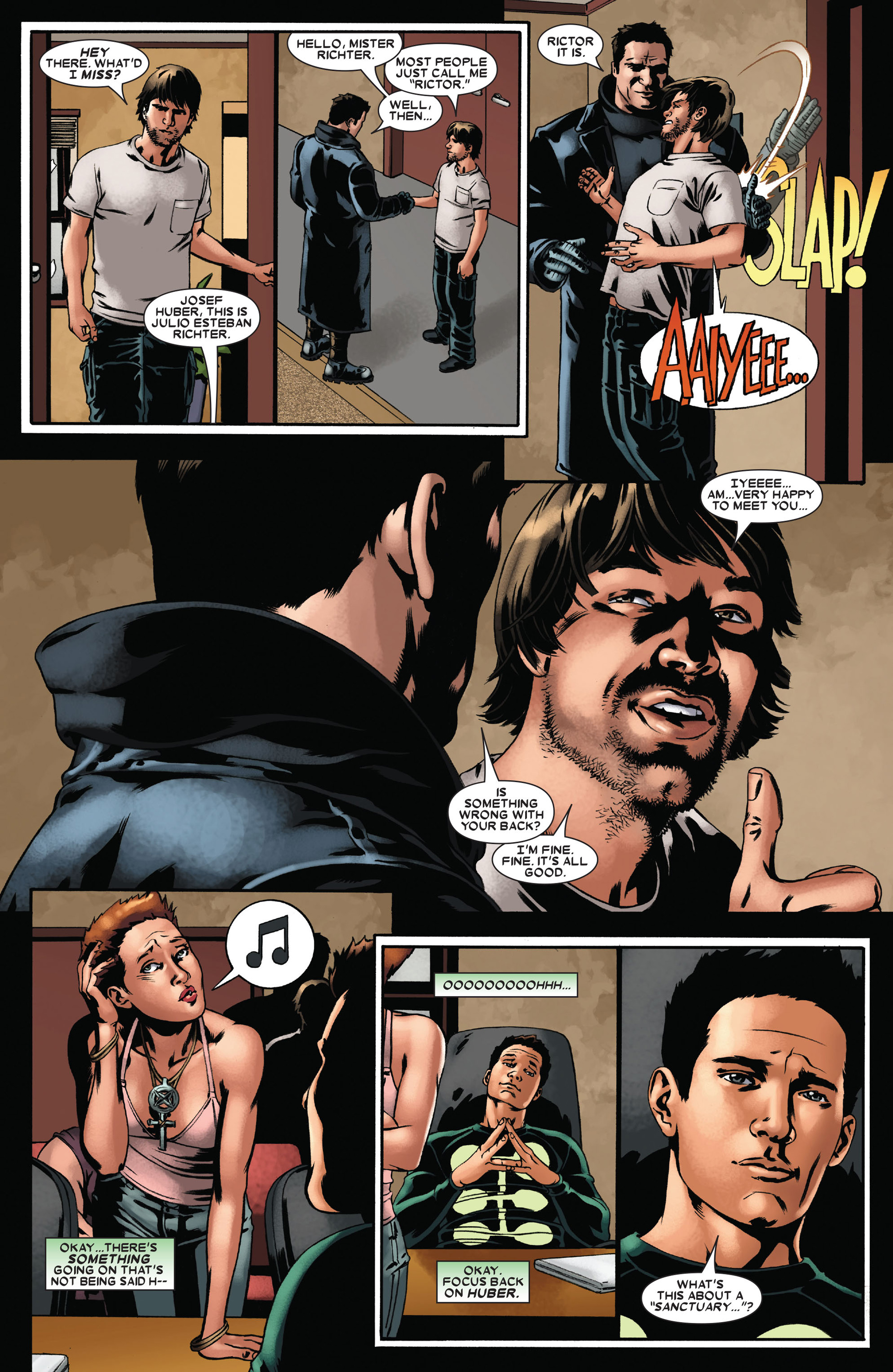 Read online X-Factor (2006) comic -  Issue #22 - 17