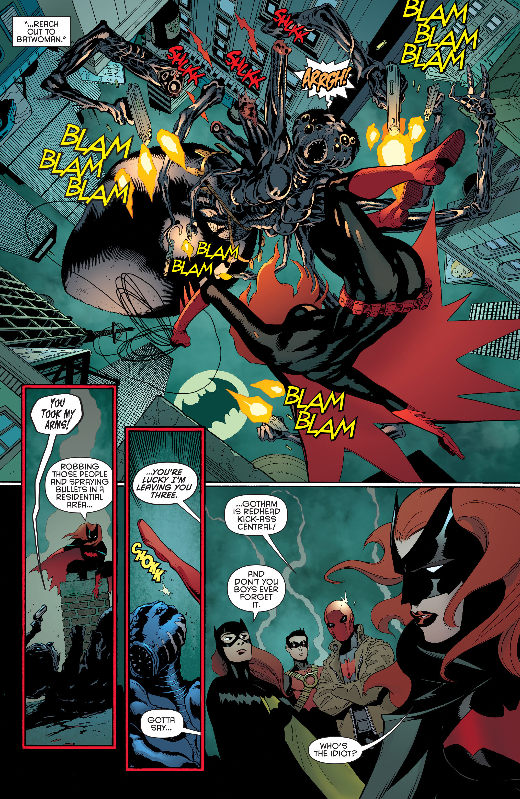 Read online Batman and Robin (2011) comic -  Issue #35 - 9