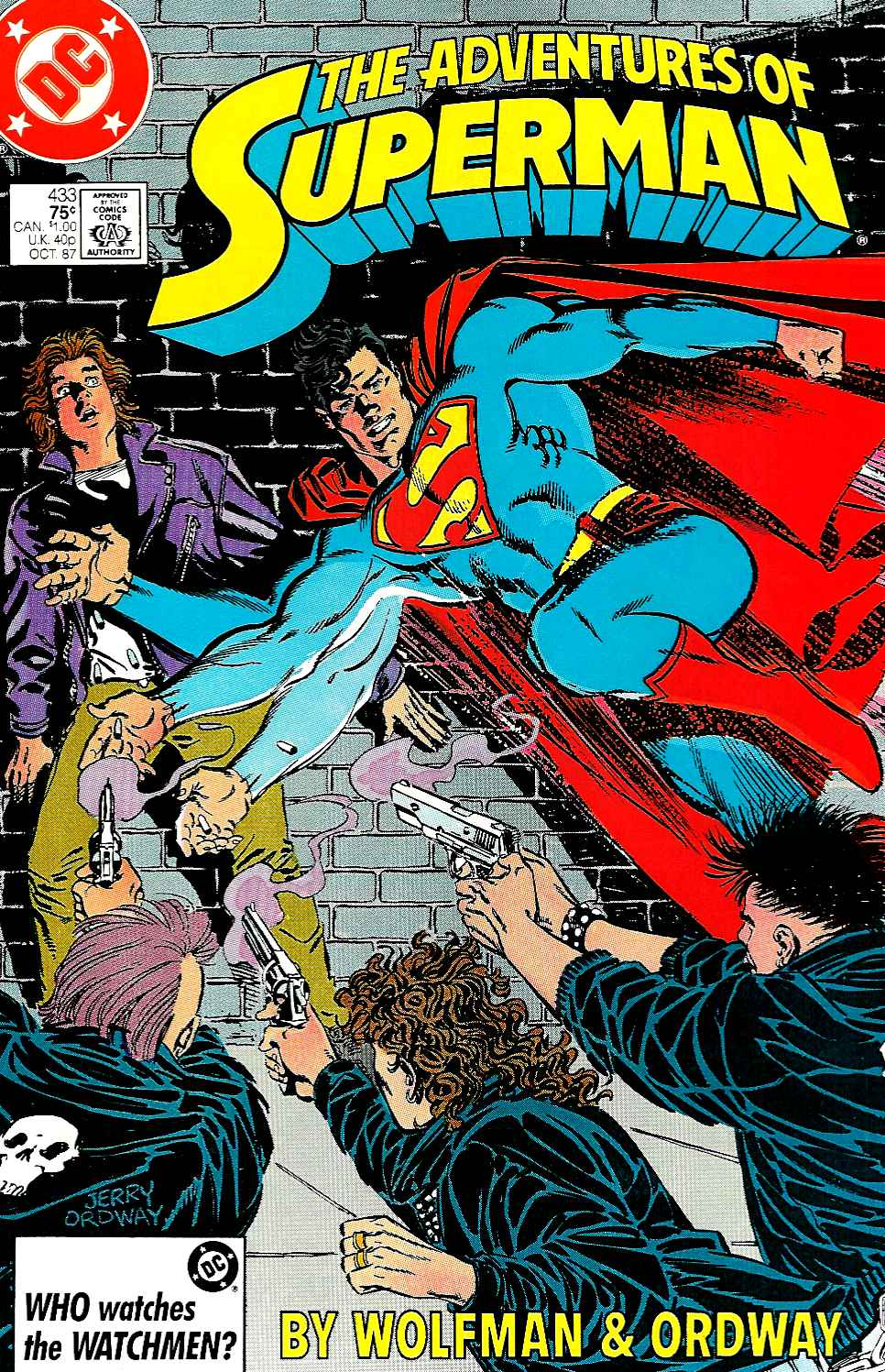 Read online Adventures of Superman (1987) comic -  Issue #433 - 1