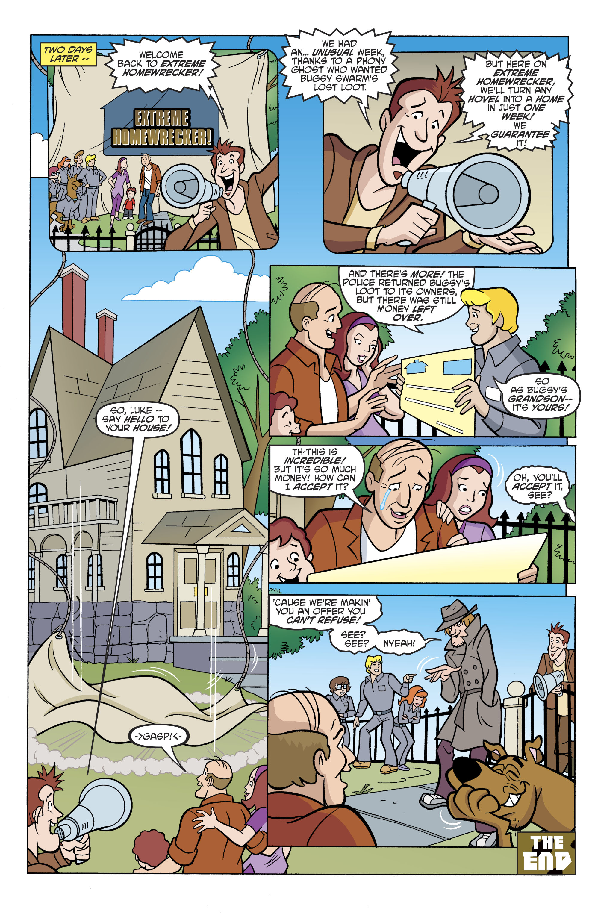 Read online Scooby-Doo: Where Are You? comic -  Issue #81 - 21