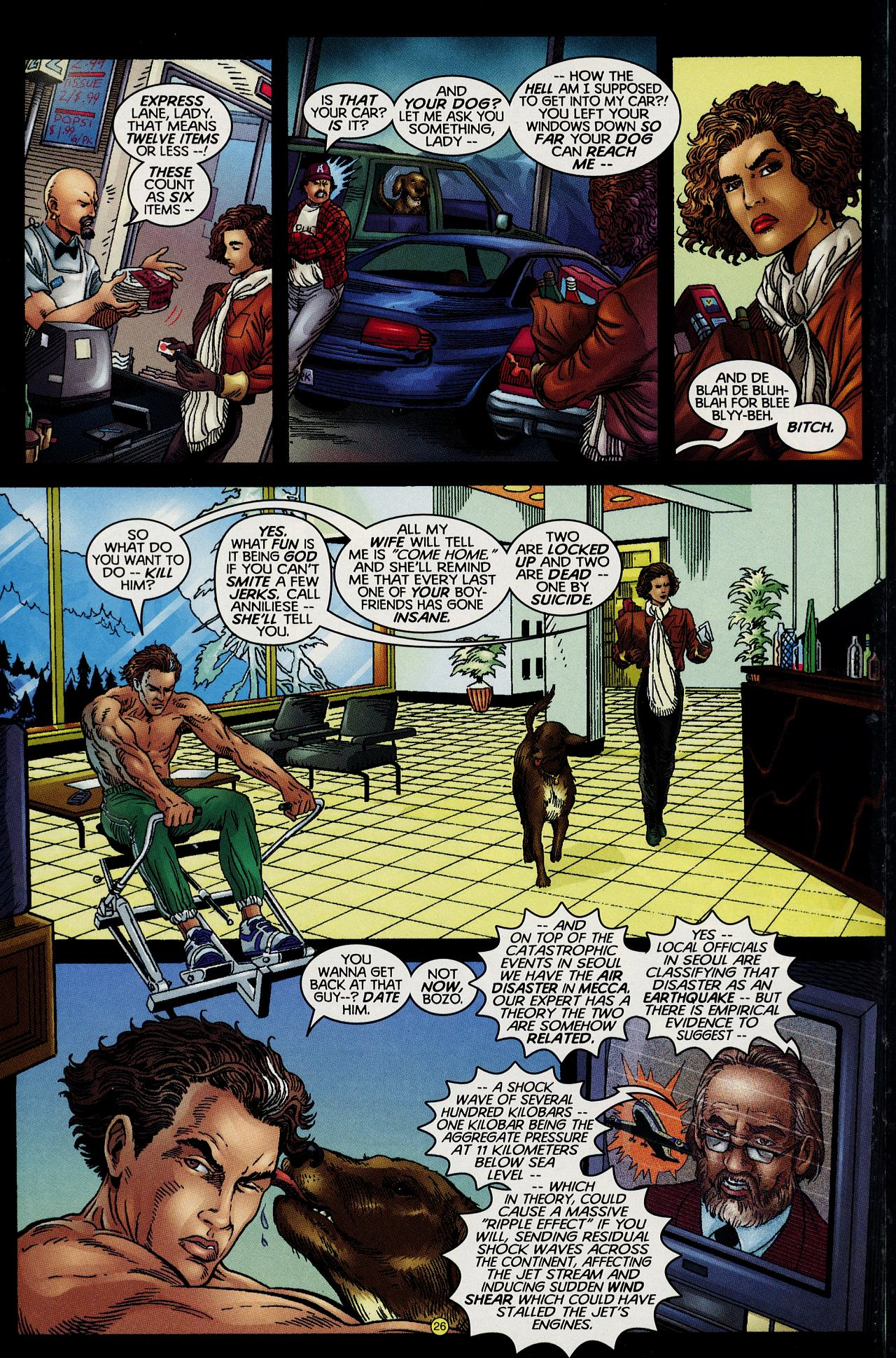 Read online Solar, Man of the Atom: Hell on Earth comic -  Issue #1 - 23