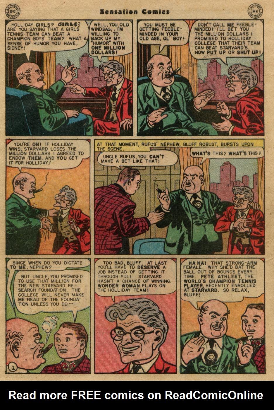 Read online Sensation (Mystery) Comics comic -  Issue #61 - 4