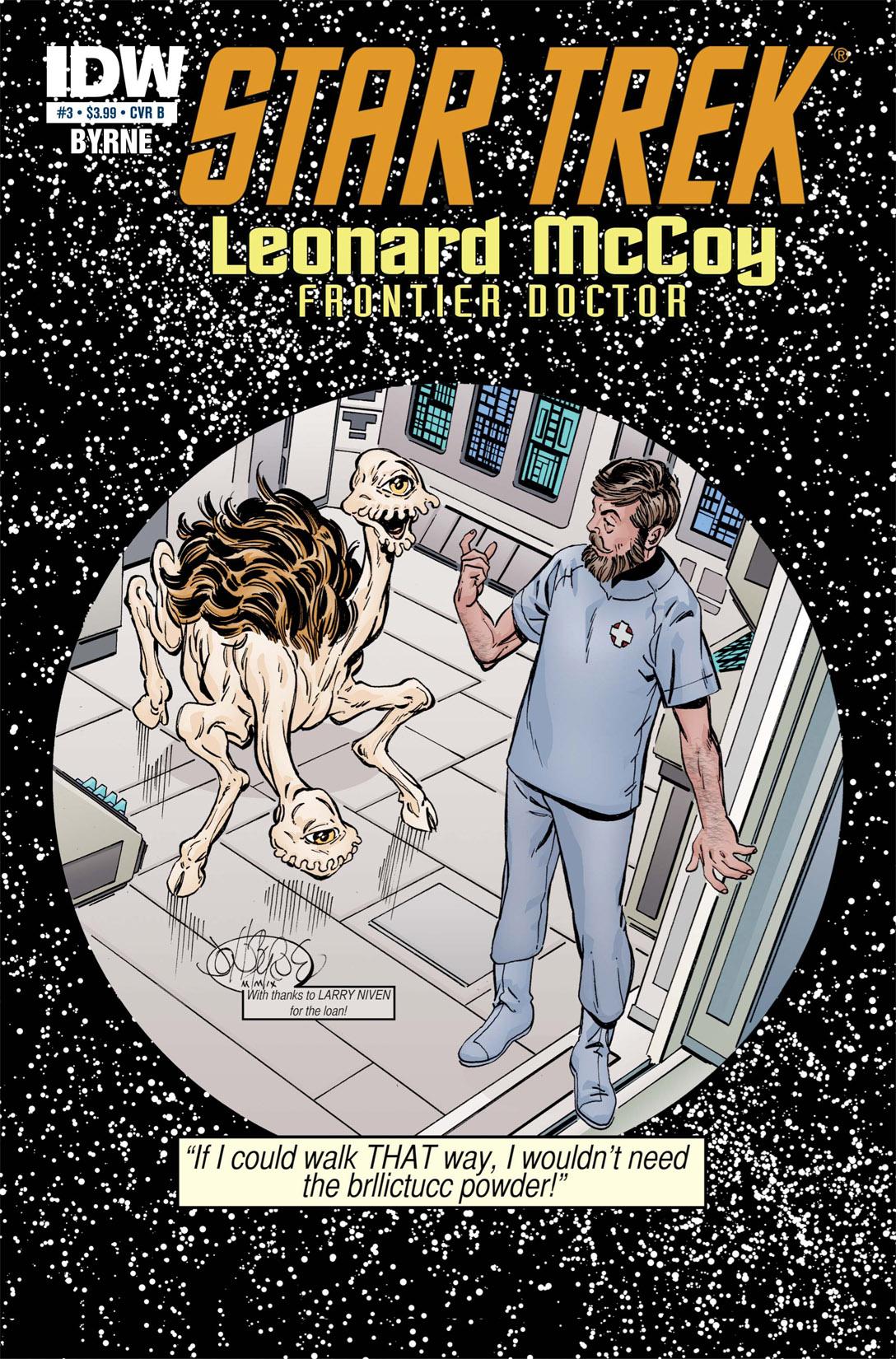 Read online Star Trek: Leonard McCoy, Frontier Doctor comic -  Issue #3 - 2