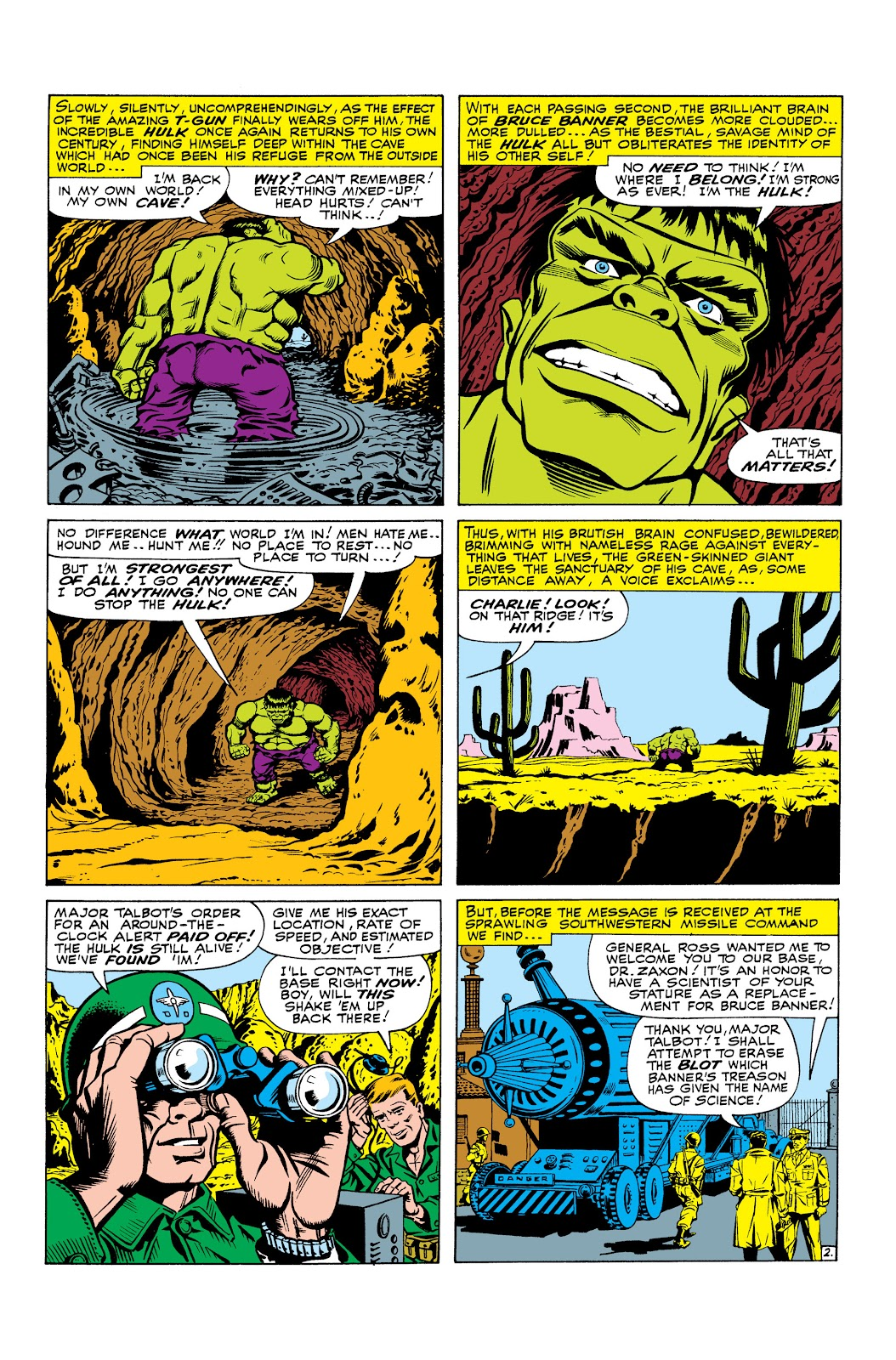 Read online Marvel Masterworks: The Incredible Hulk comic -  Issue # TPB 2 (Part 3) - 24