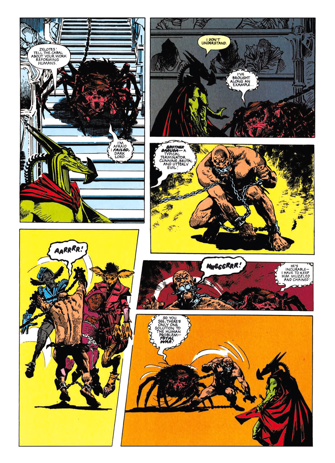 Read online Nemesis The Warlock comic -  Issue # TPB Deviant Edition - 140
