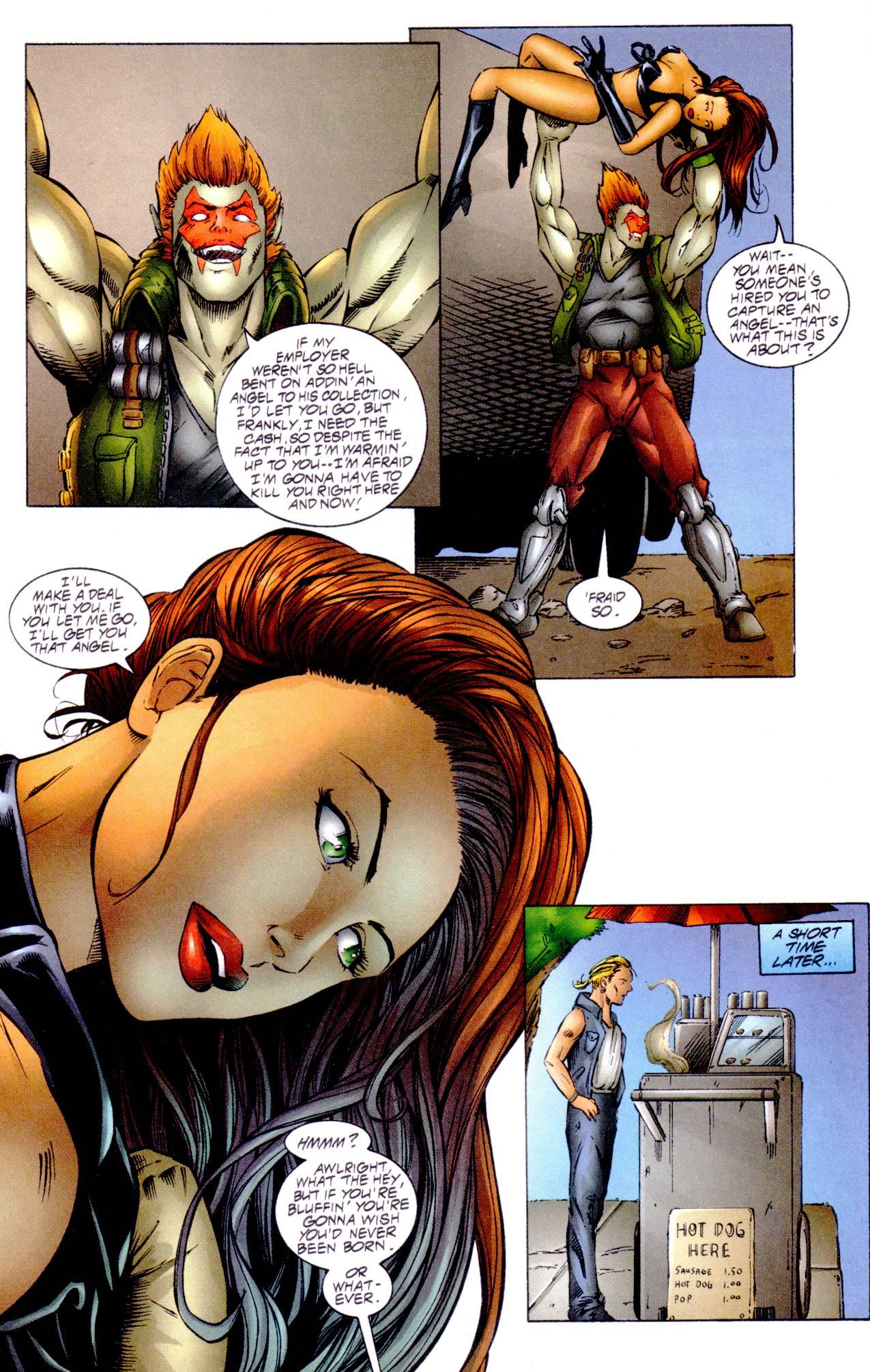 Read online Avengelyne (1996) comic -  Issue #14 - 17