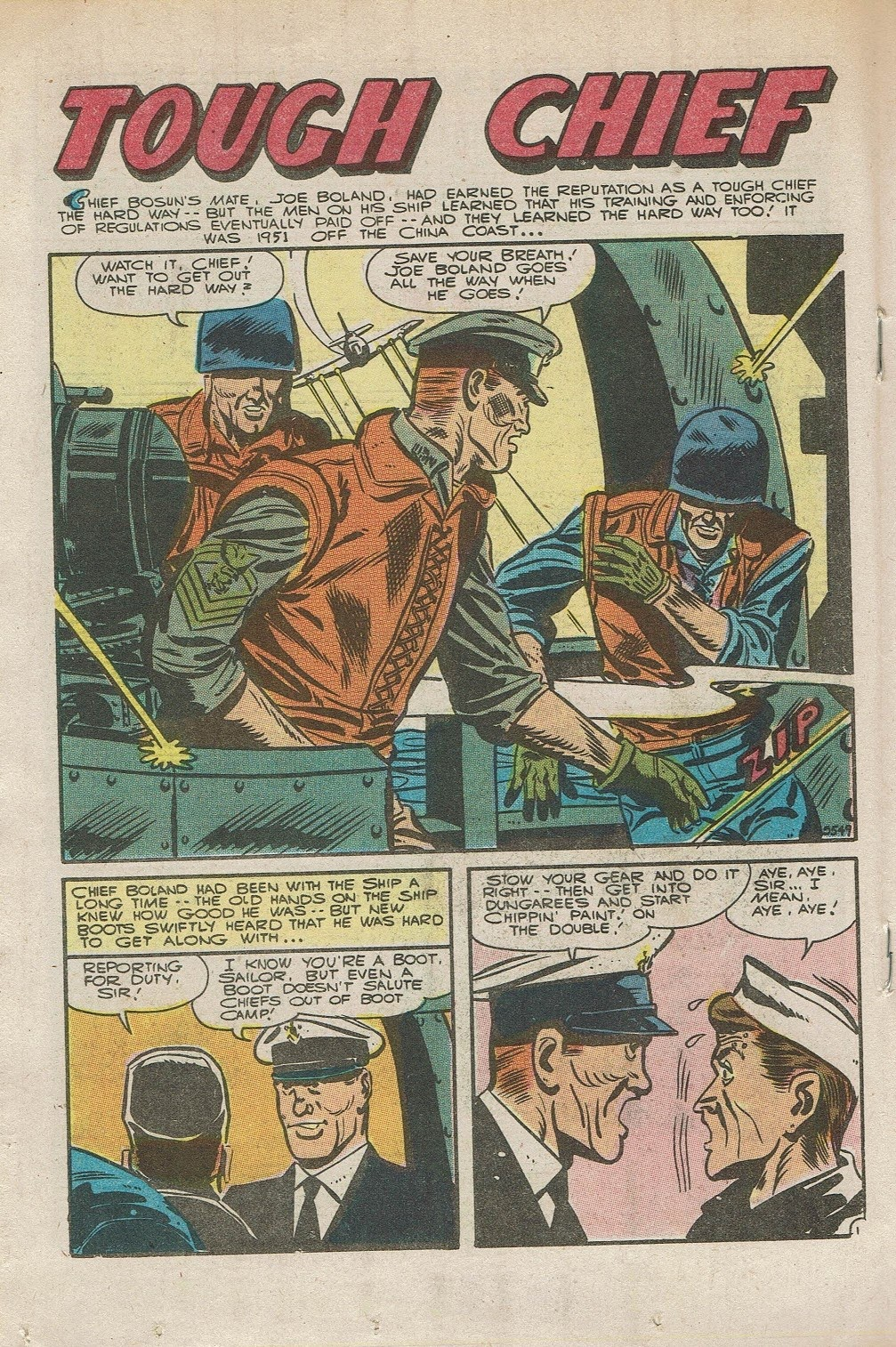 Read online Fightin' Navy comic -  Issue #126 - 18