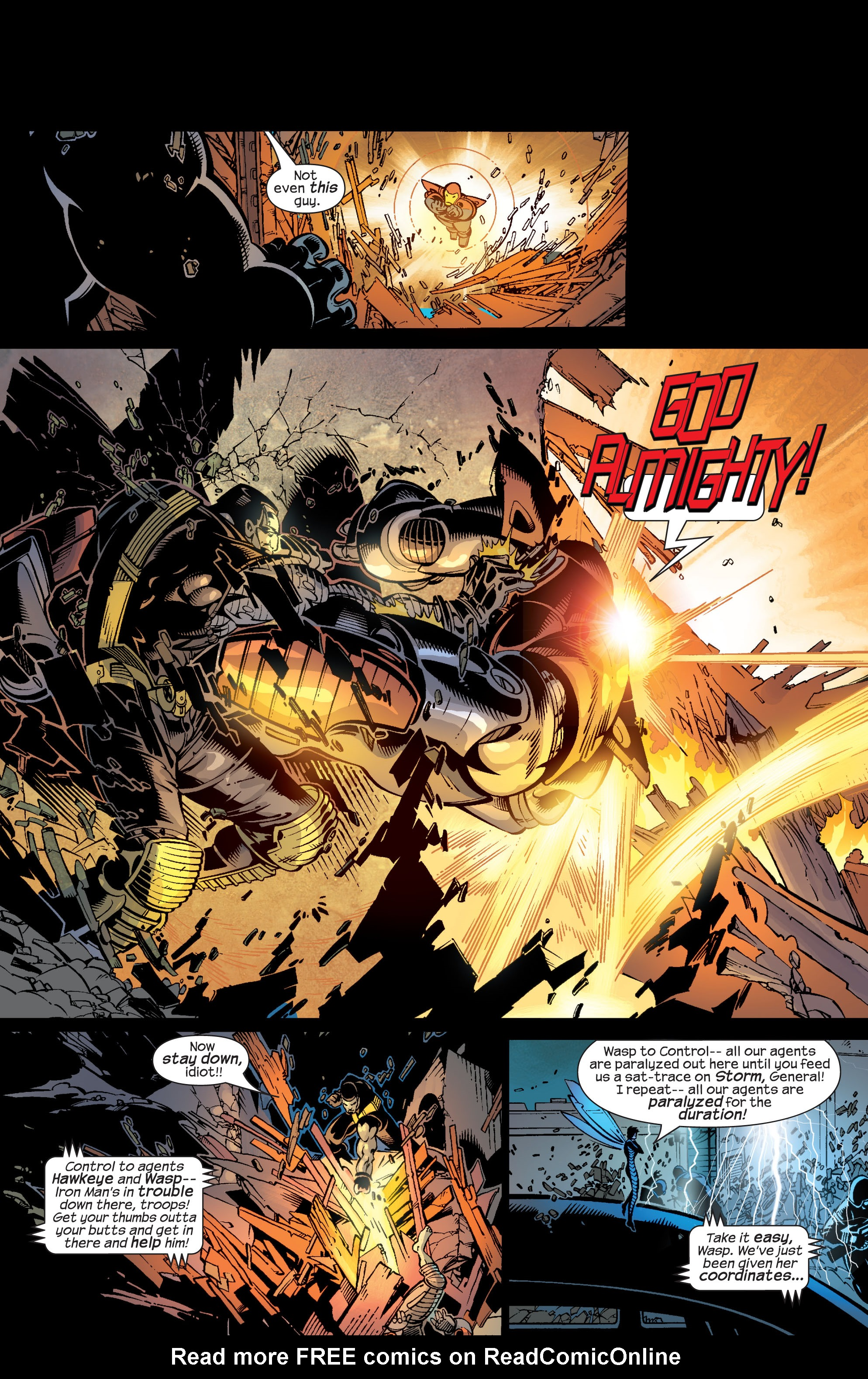 Read online Ultimate War comic -  Issue #4 - 9