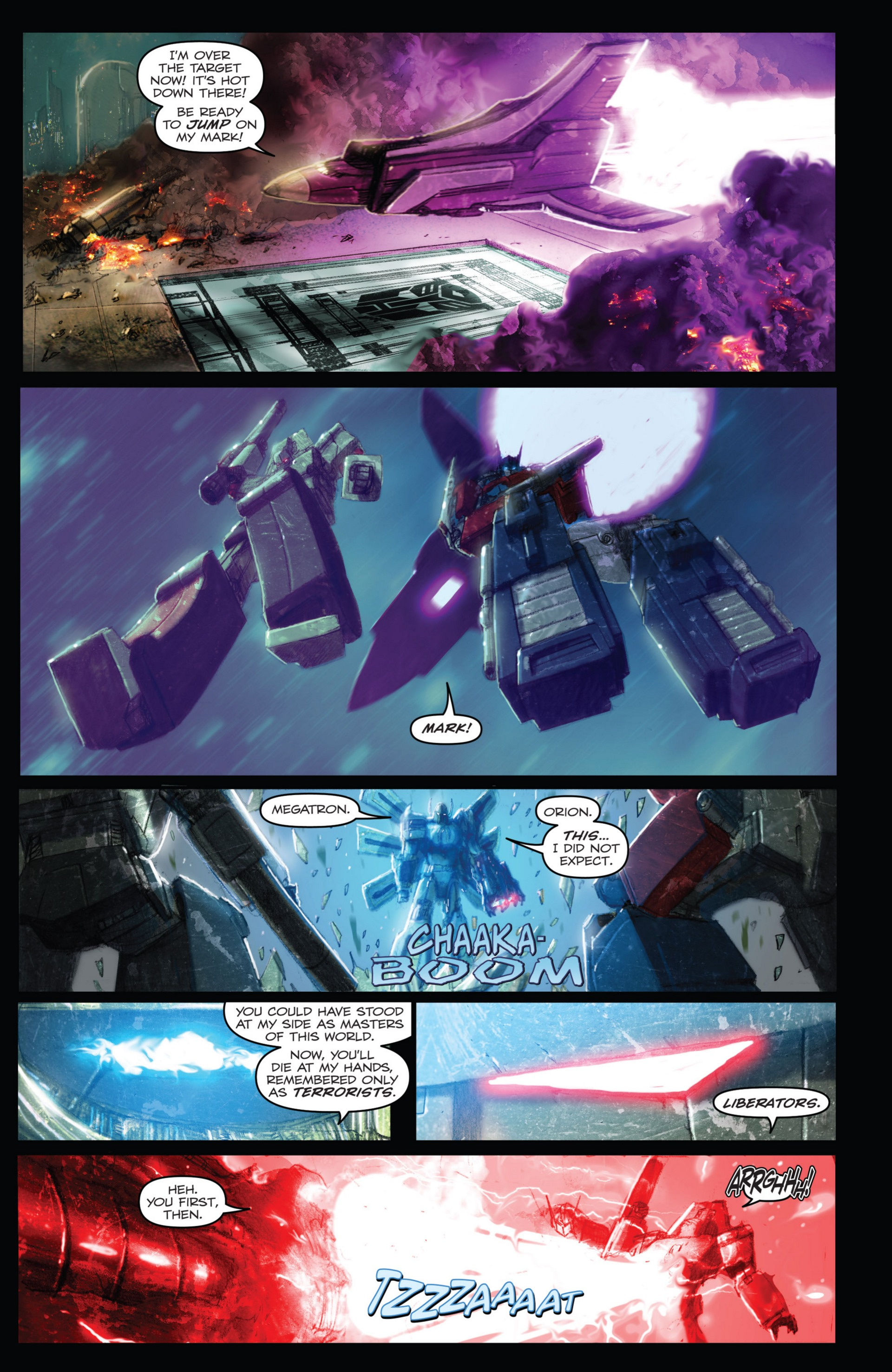 Read online Transformers: Autocracy comic -  Issue # Full - 73