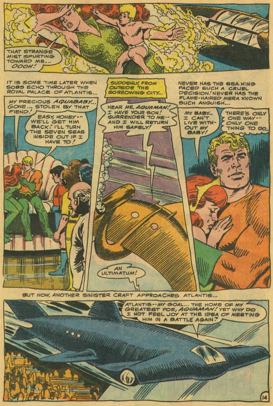 Read online Aquaman (1962) comic -  Issue #35 - 21