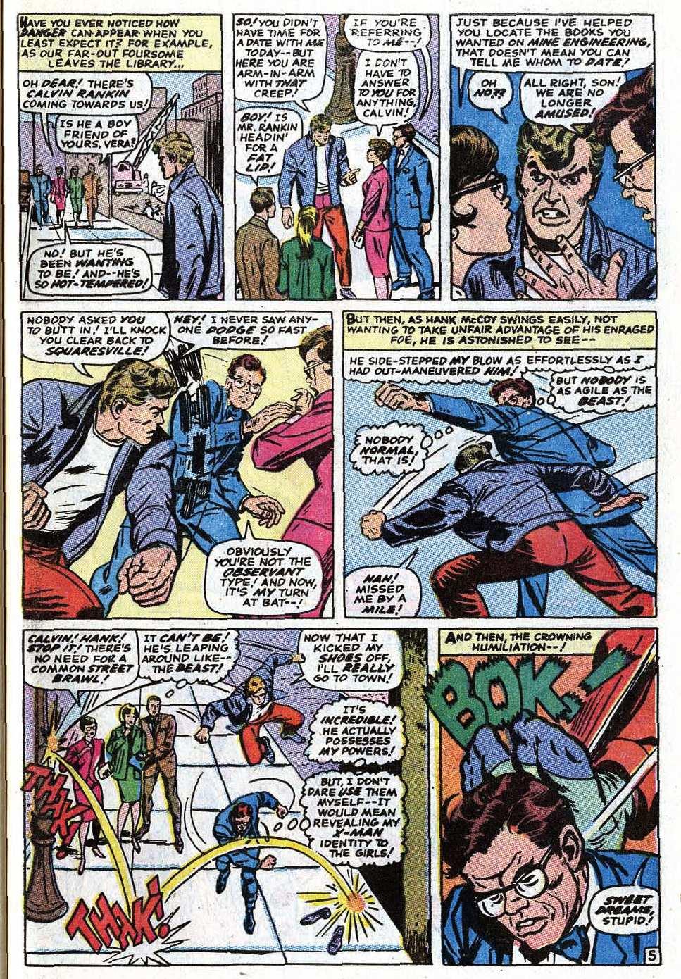 Read online Uncanny X-Men (1963) comic -  Issue #69 - 31