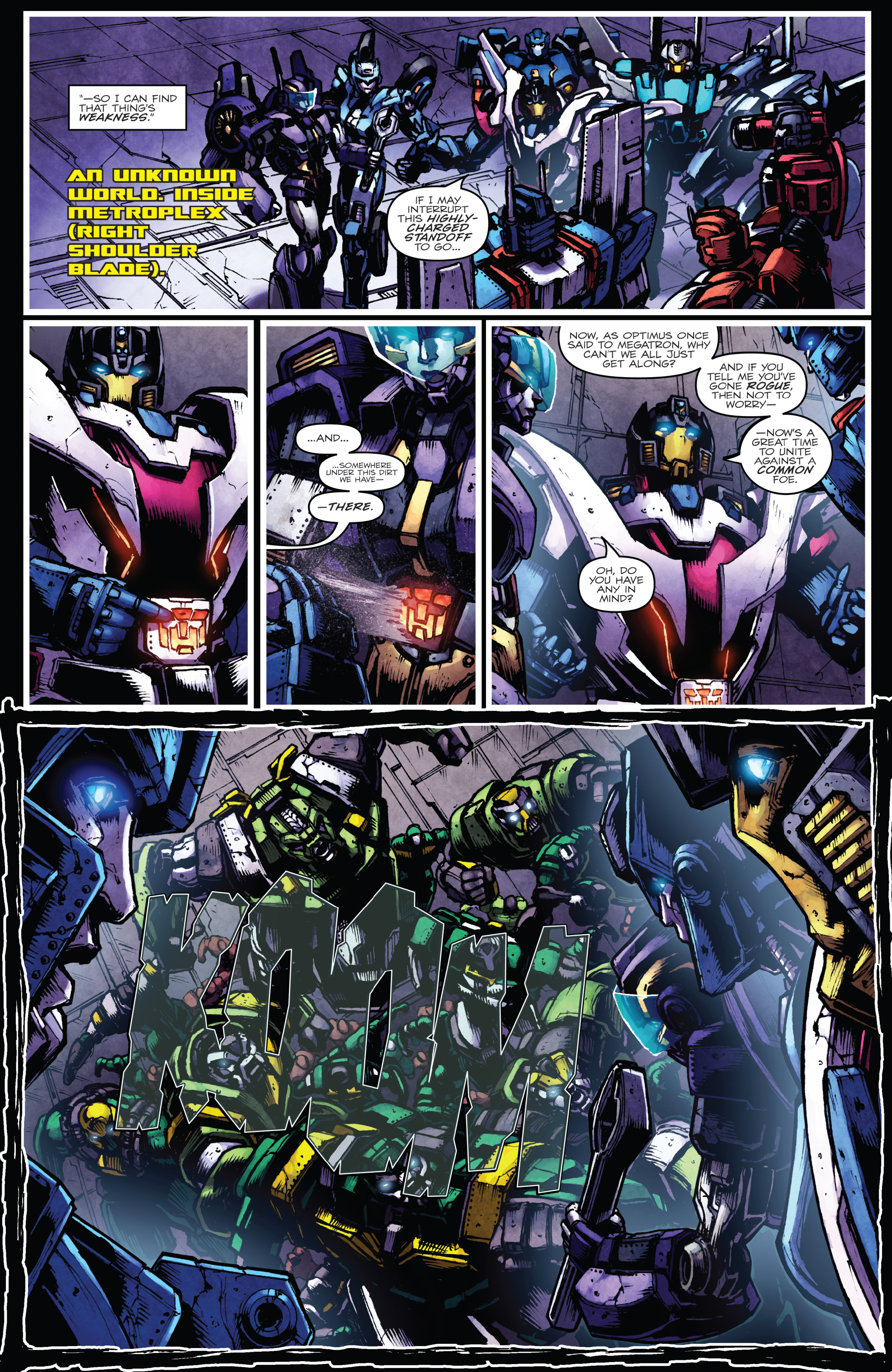 Read online The Transformers: Dark Cybertron Finale comic -  Issue # Full - 35