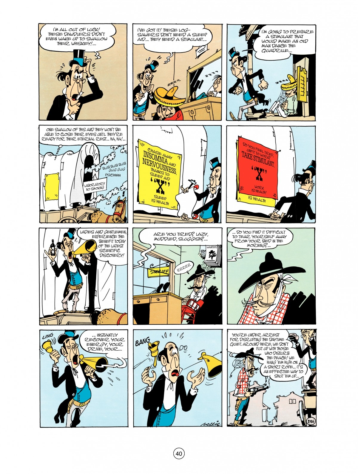 Read online A Lucky Luke Adventure comic -  Issue #38 - 40