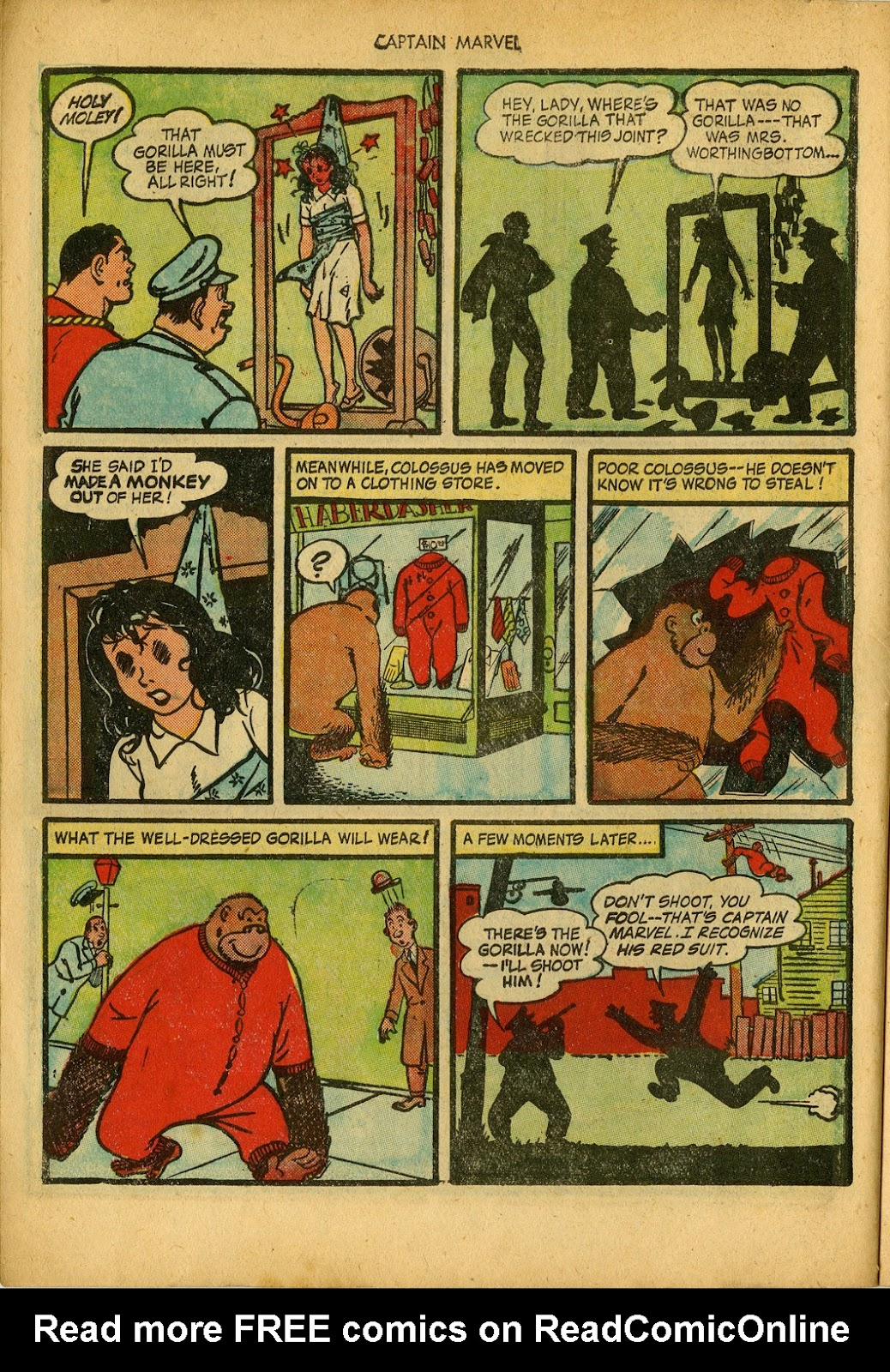 Captain Marvel Adventures issue 34 - Page 10