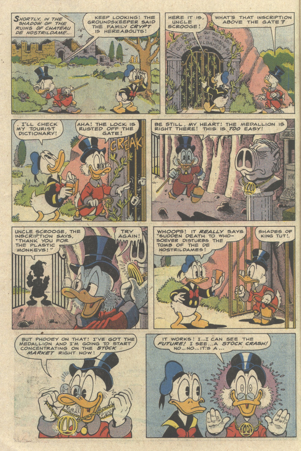 Read online Uncle Scrooge (1953) comic -  Issue #235 - 6