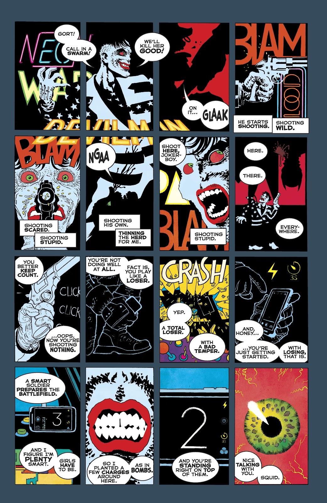Dark Knight Returns: The Golden Child issue Full - Page 37