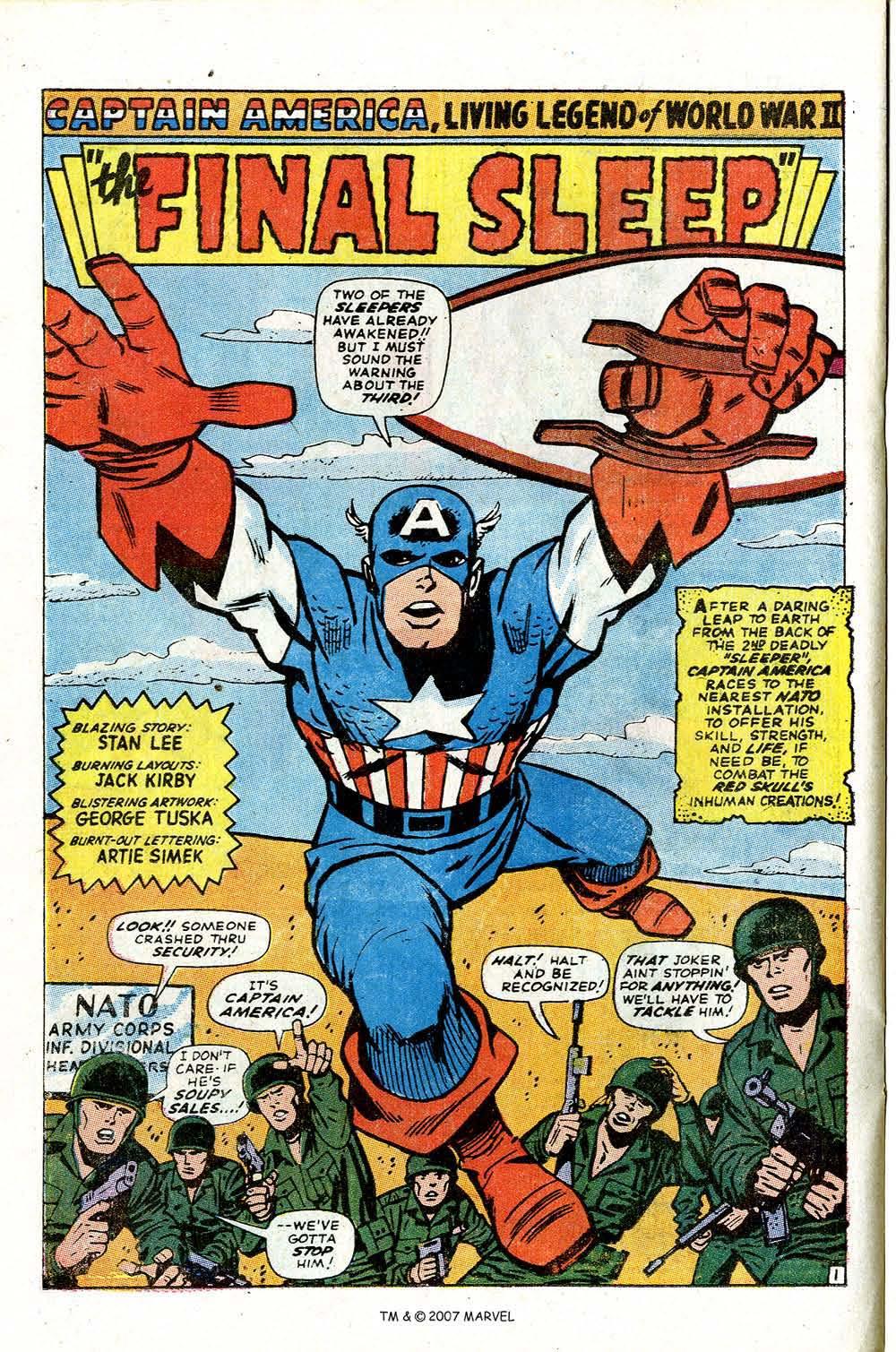 Read online Captain America (1968) comic -  Issue # _Annual 2 - 28