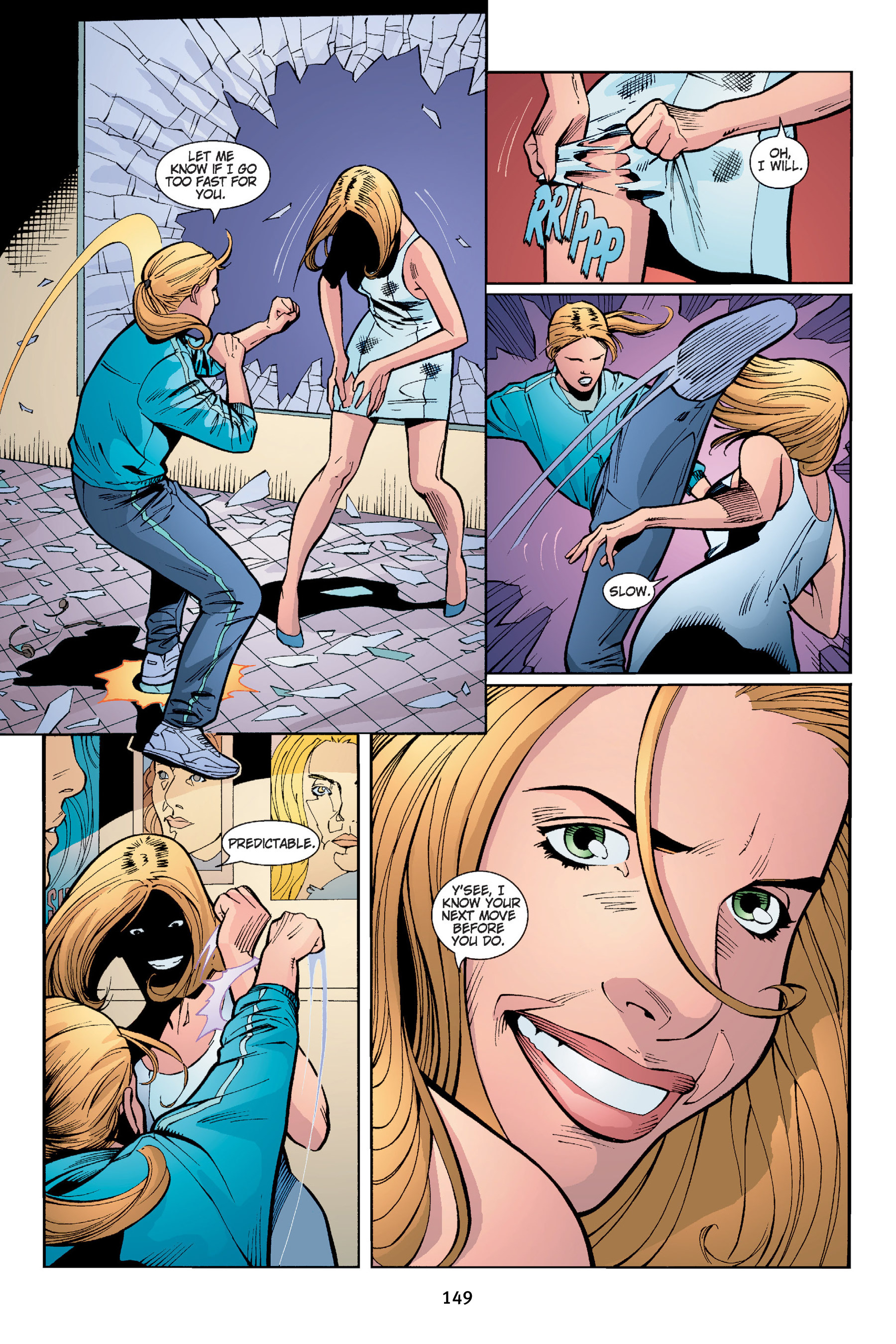 Read online Buffy the Vampire Slayer: Omnibus comic -  Issue # TPB 4 - 150