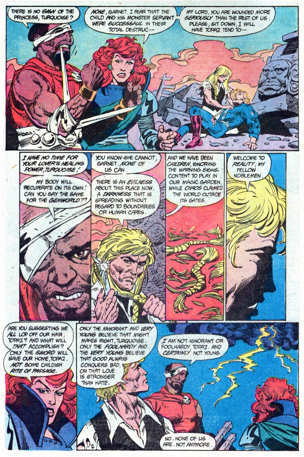 Read online Amethyst (1985) comic -  Issue #16 - 4
